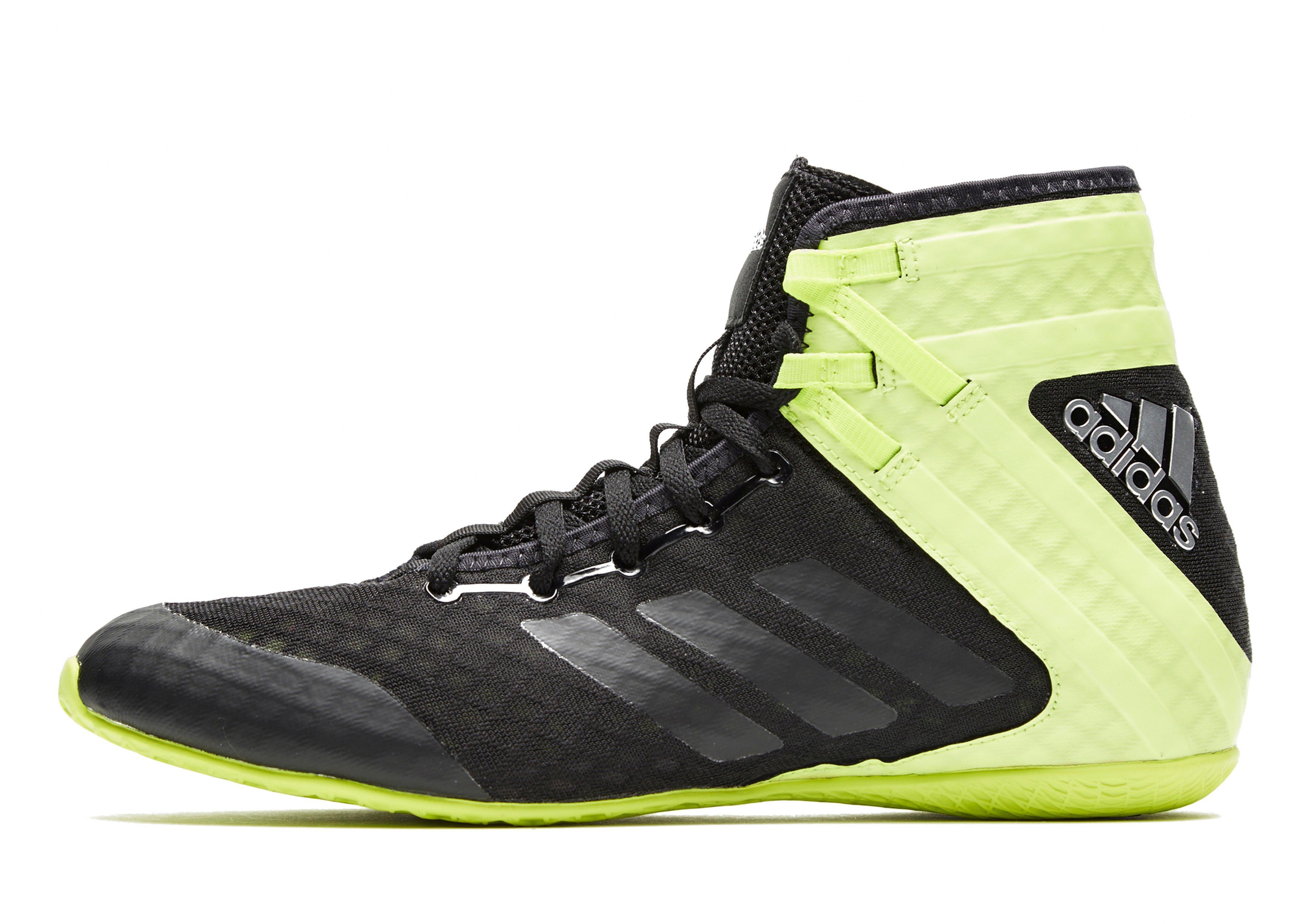 2152646ed10c5 Adidas Black Speedex 16.1 Boxing Boots for men