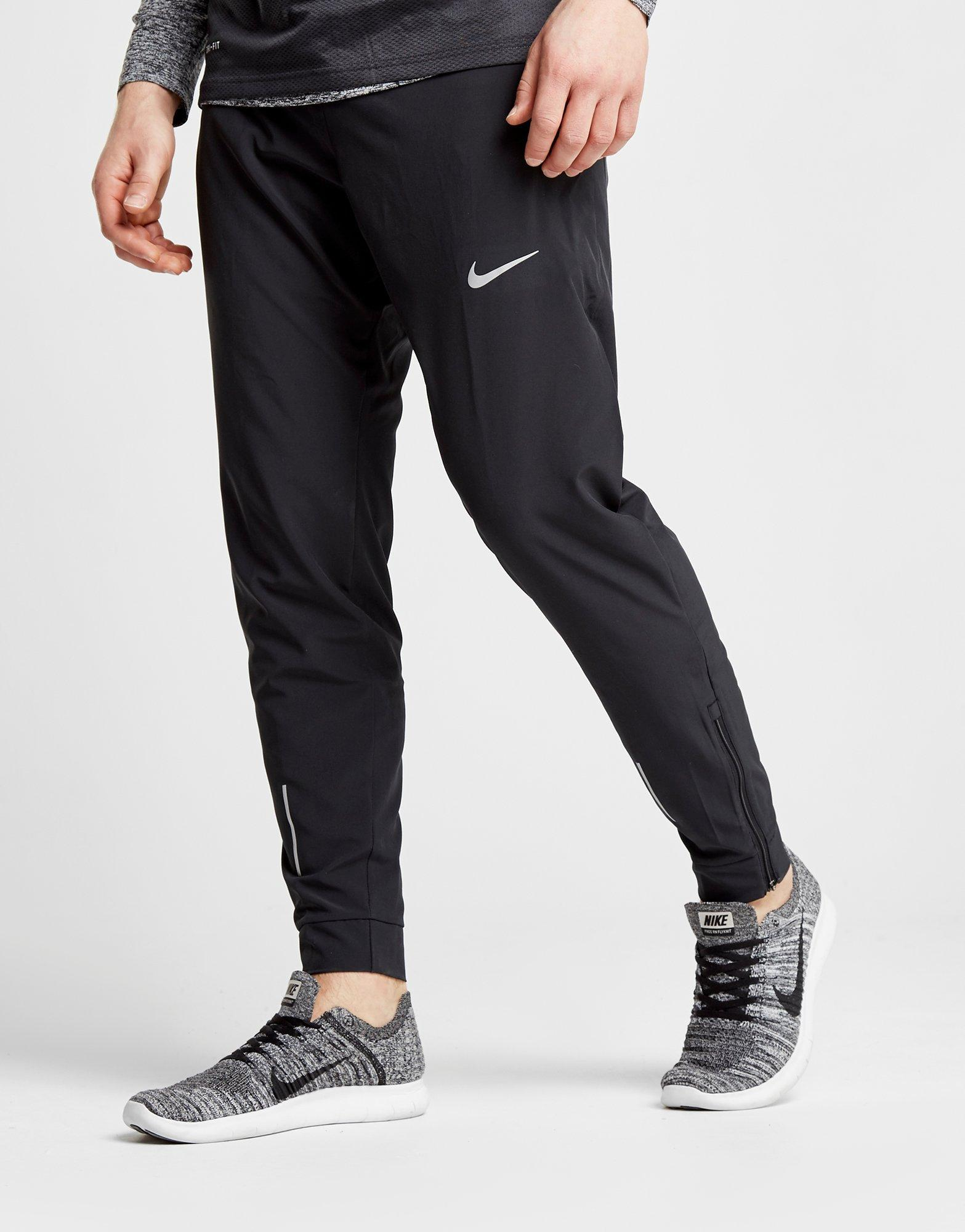 db1cbbc170 Nike Black Flexible Woven Track Pants for men