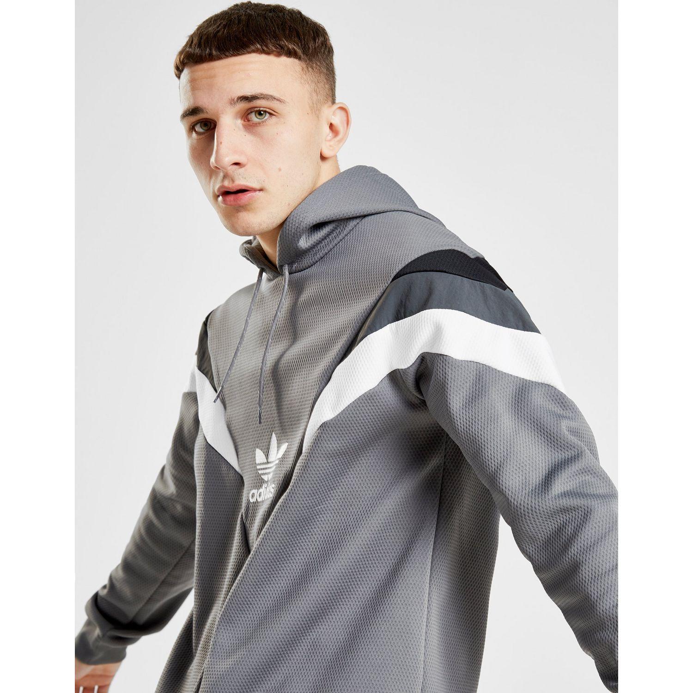 Adidas Originals White Street 90 Overhead Hoodie for men