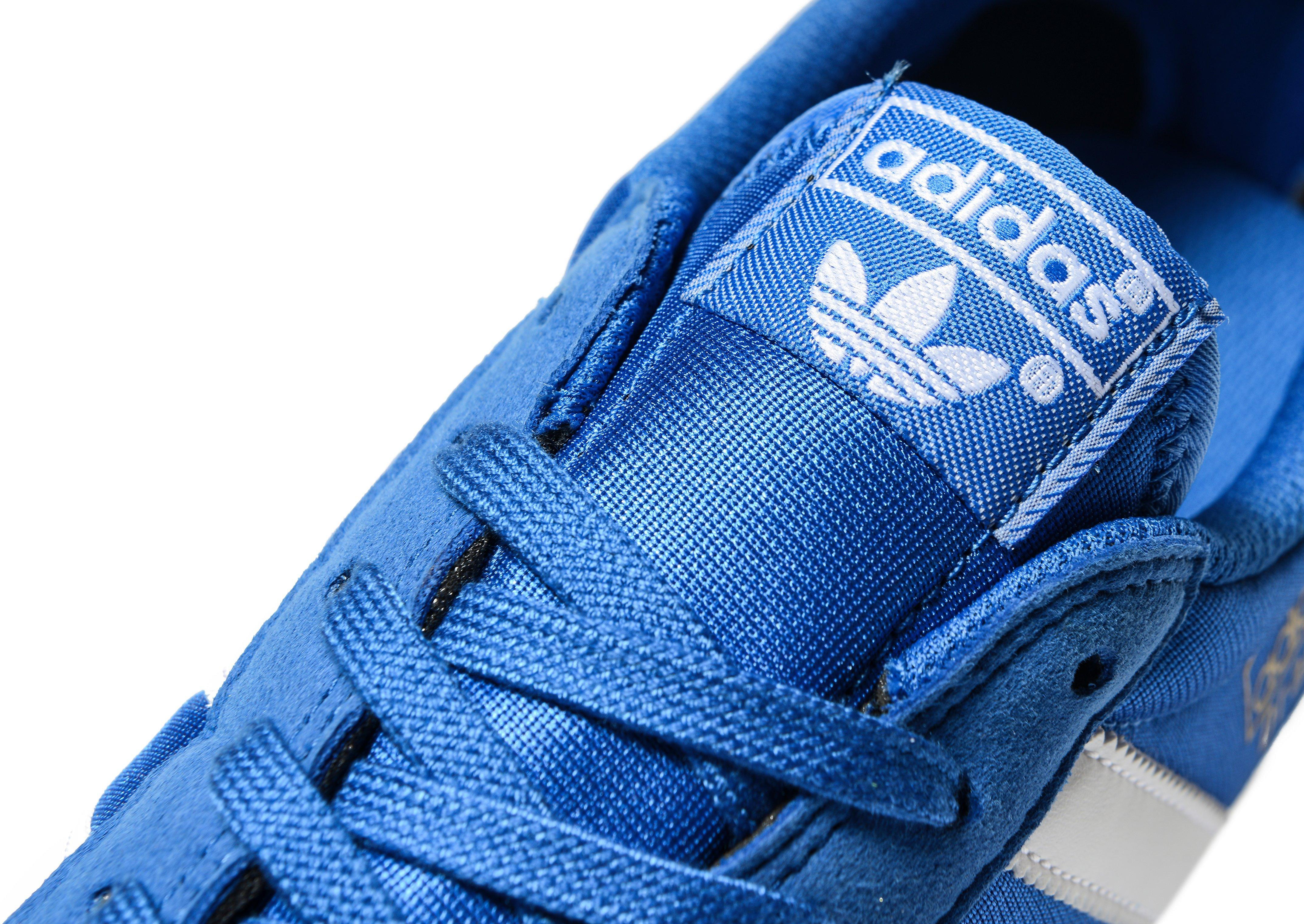 adidas Originals Leather Dragon Vintage in Blue/White (Blue) for ...