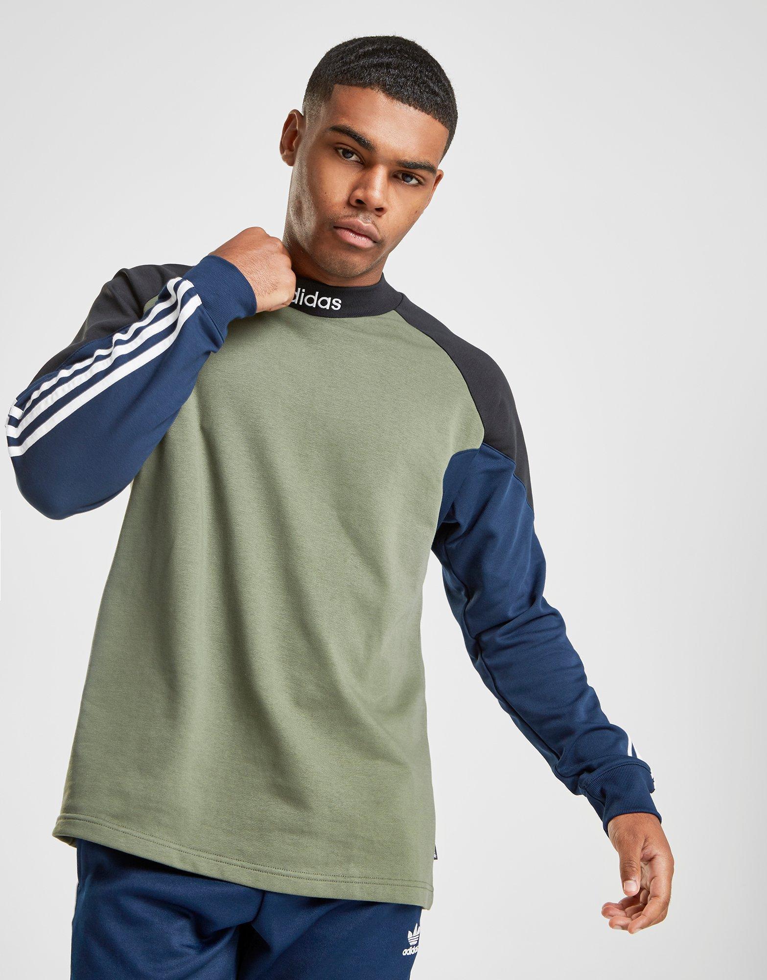 a6e48246c9d Lyst - adidas Originals Skateboarding Goalie Shirt in Green for Men