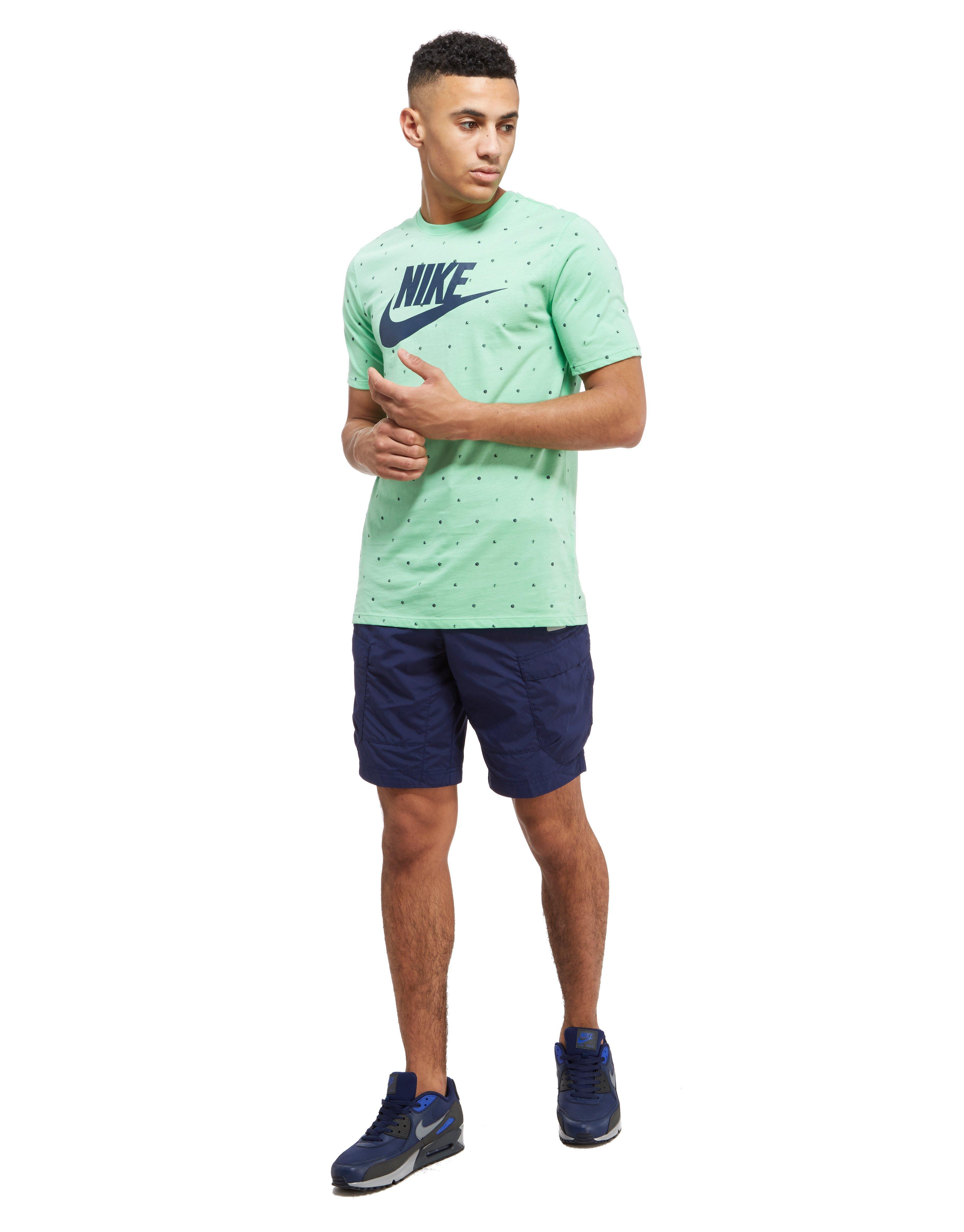 For In Dot Futura Nike Lyst Shirt Men Green T nwP0SqnH6