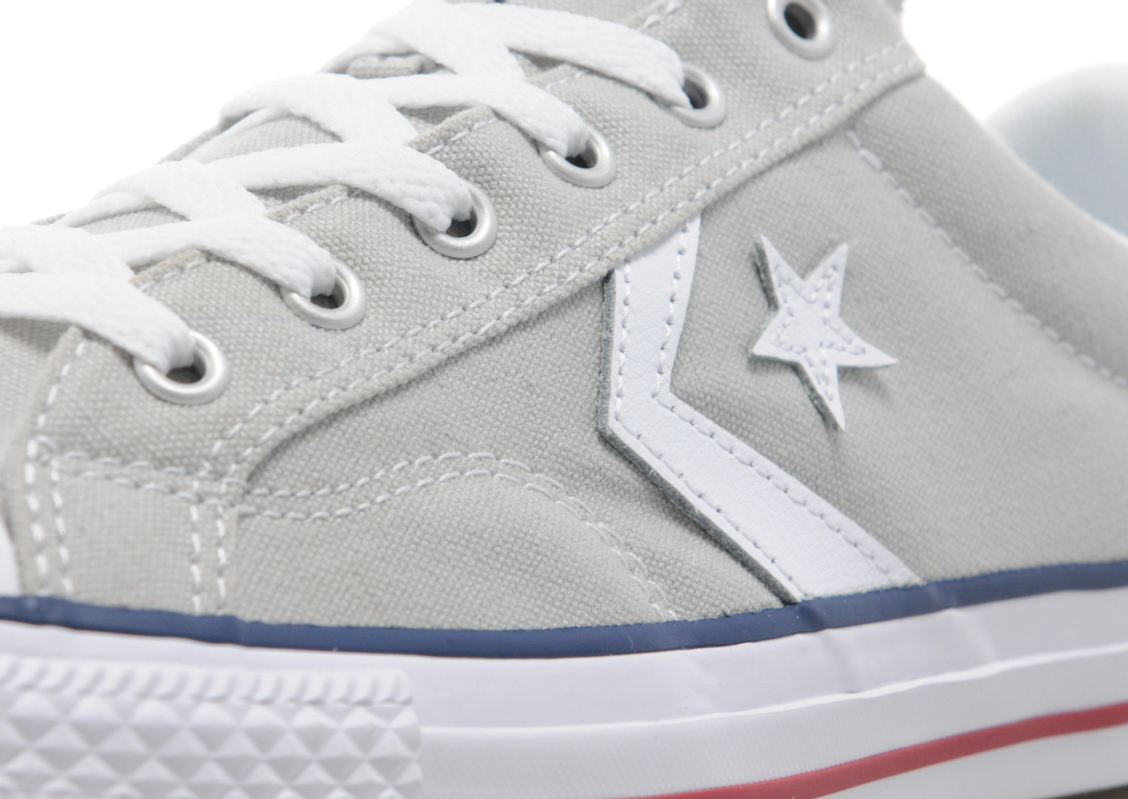 Converse Rubber Star Player Ox in Grey (Grey) for Men