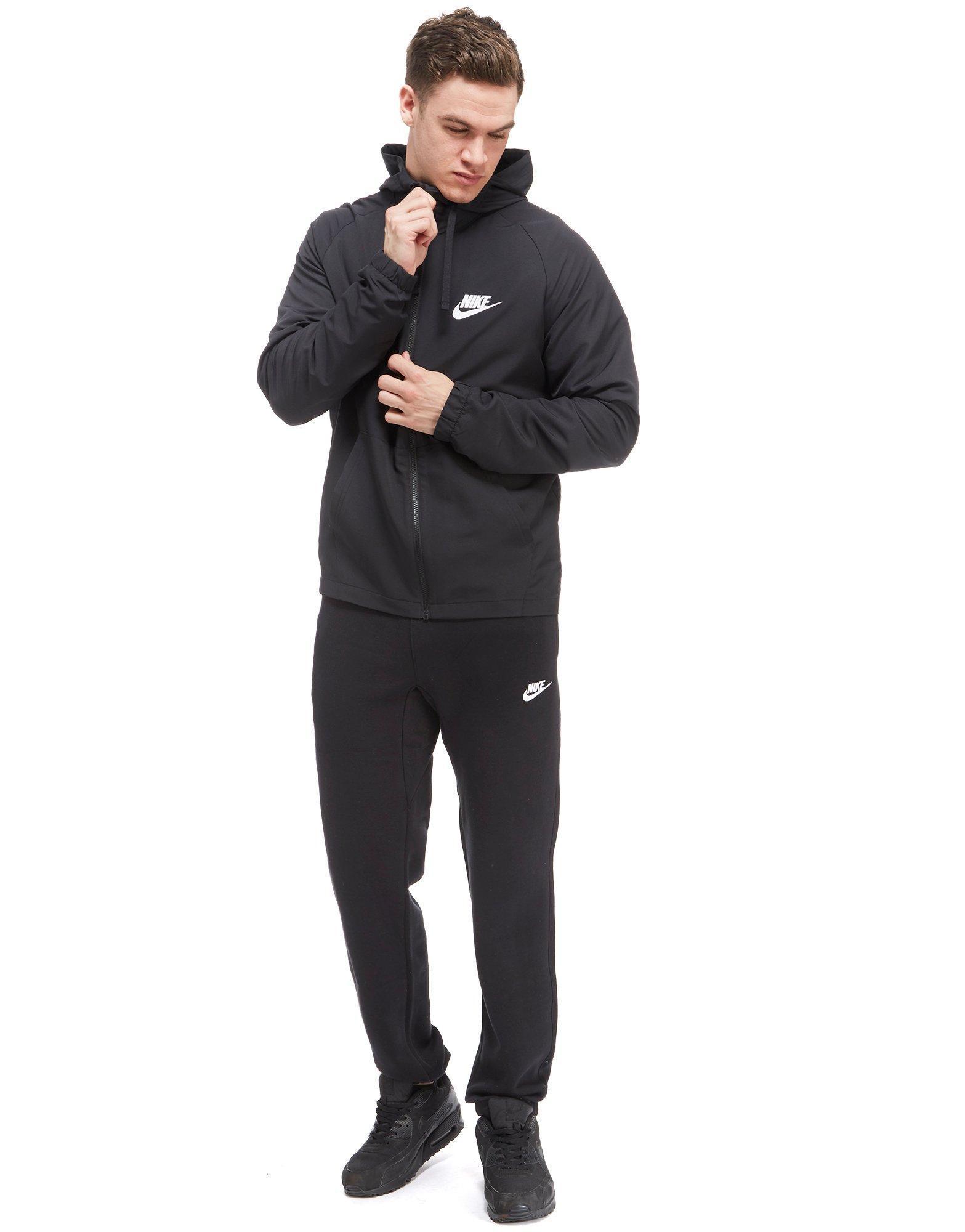 93086ef4eaa2 Nike Shut Out 2 Woven Hoody in Black for Men - Lyst