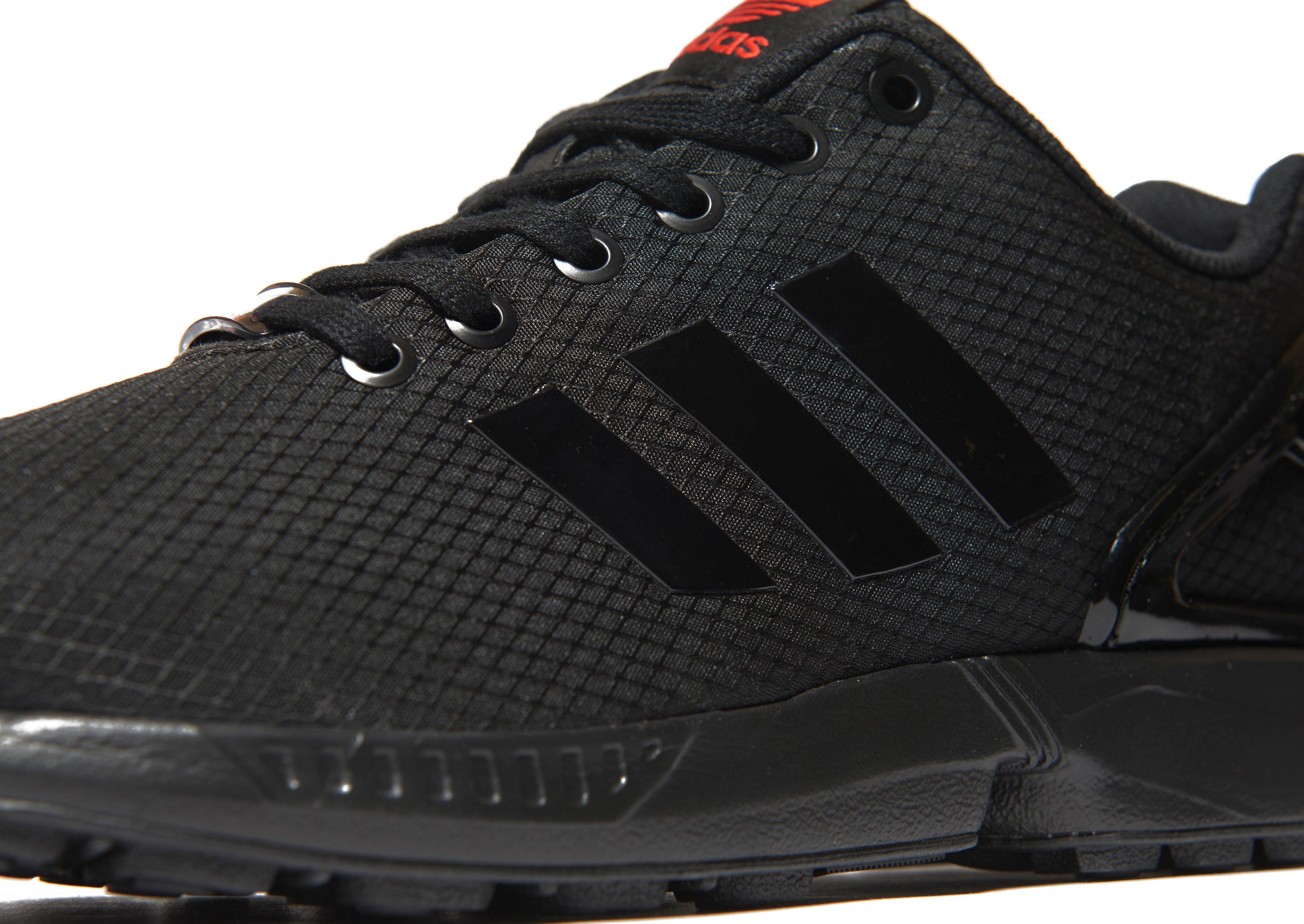 hot sale online 3a869 f52fb Adidas Originals Black Zx Flux Ripstop for men