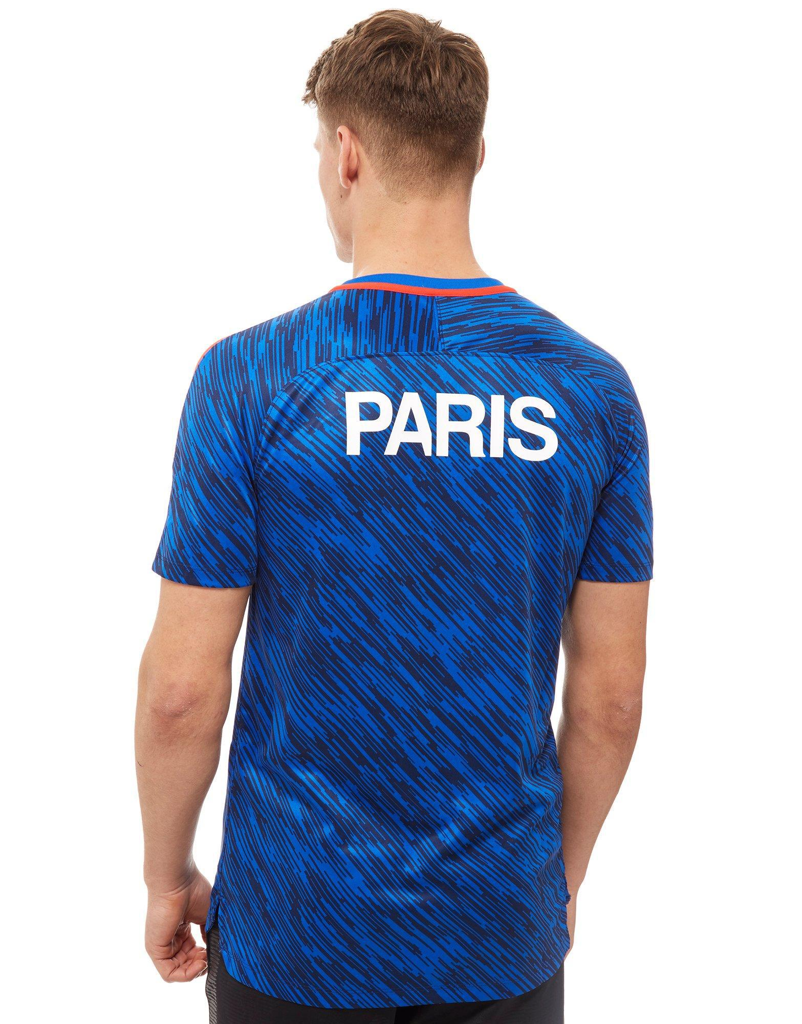 low priced 65da2 23aab Nike Blue Paris Saint Germain Pre Match Shirt for men