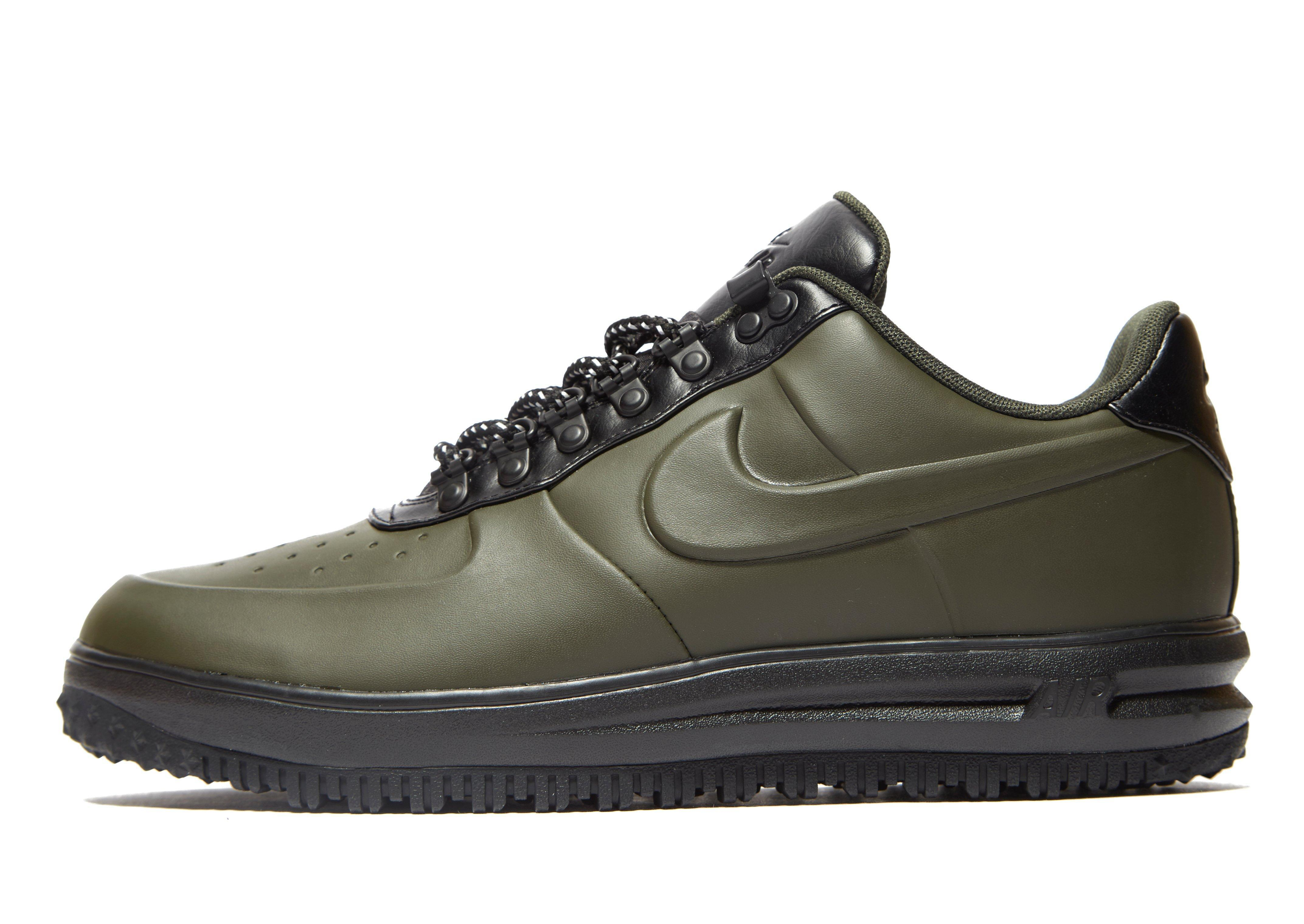 lyst nike lunar force 1 duckboot low in black for men. Black Bedroom Furniture Sets. Home Design Ideas