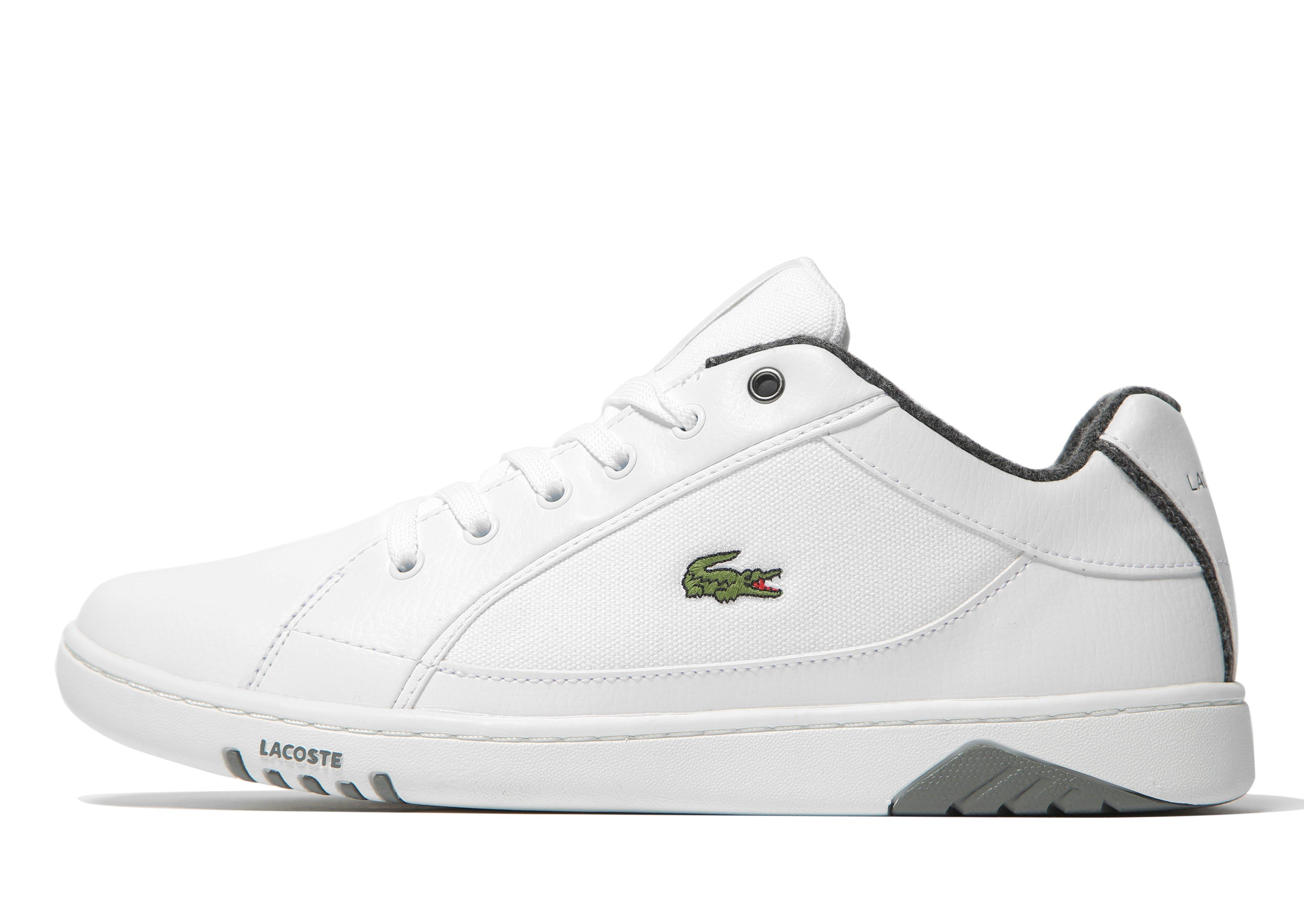 Lacoste Synthetic Deviation Ii in White