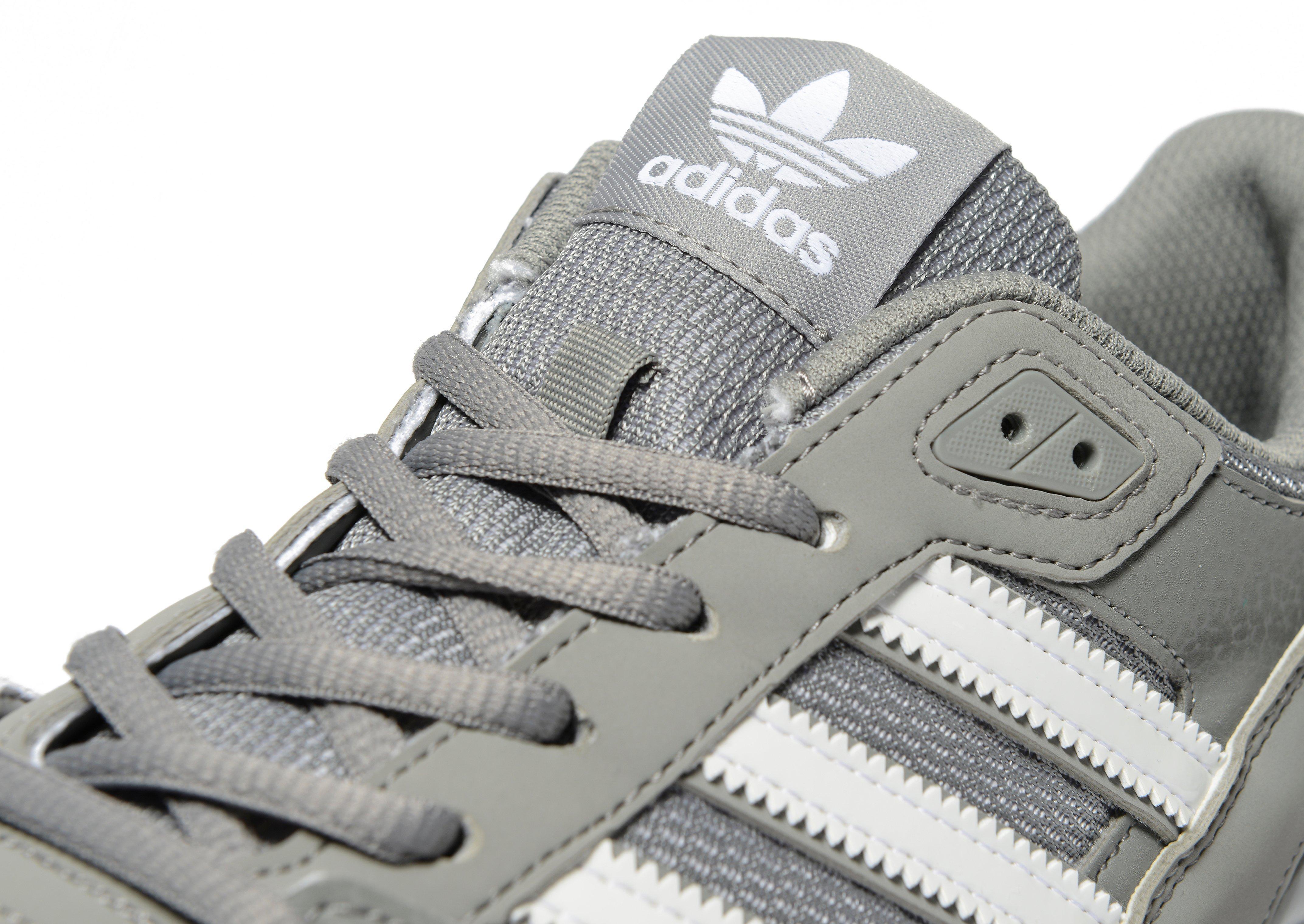 Men's Adidas Originals ZX 750 Shoes Charcoal GreyWhite
