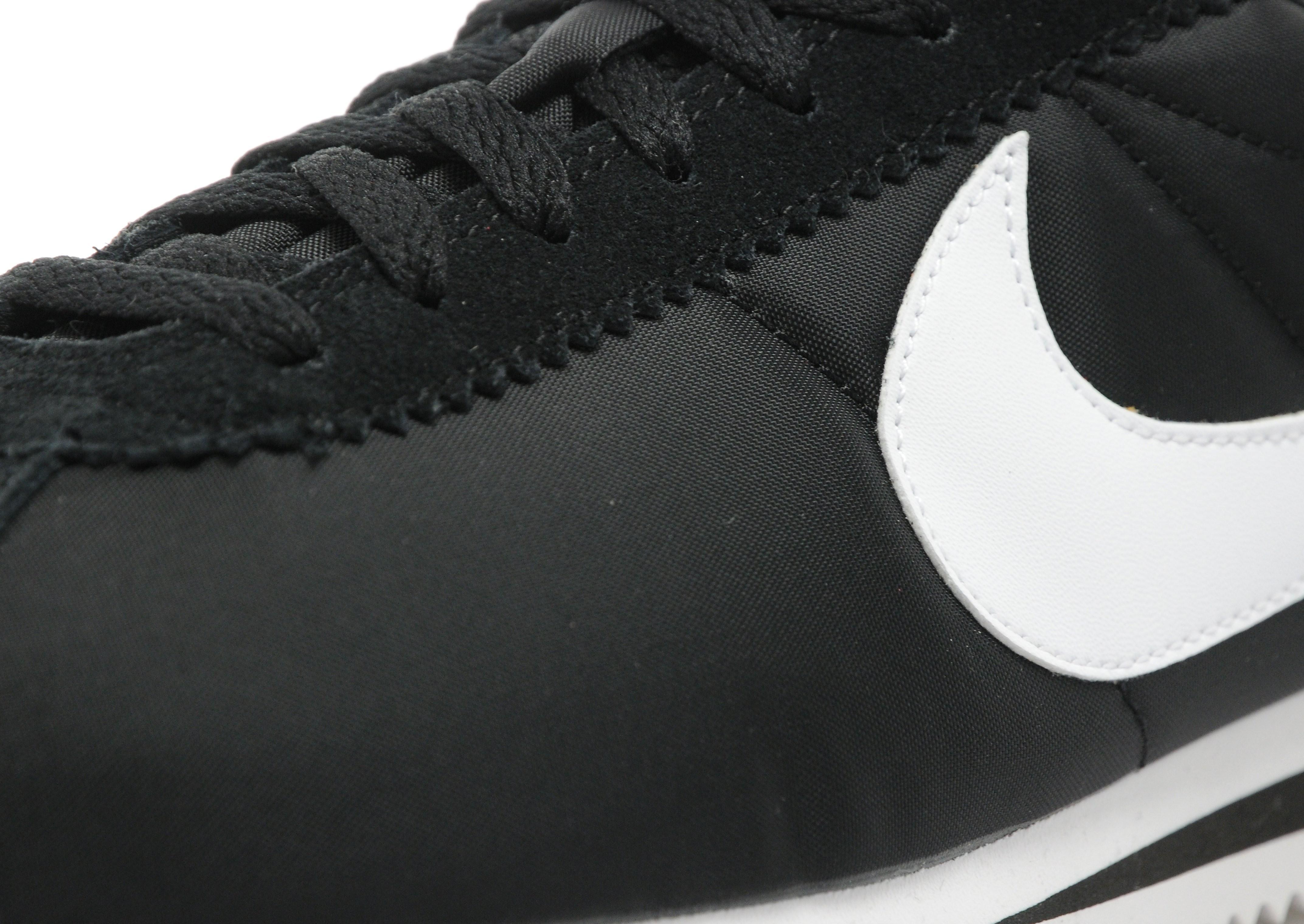 Cortez Nylon Nike de Tejido sintético de color Negro para hombre