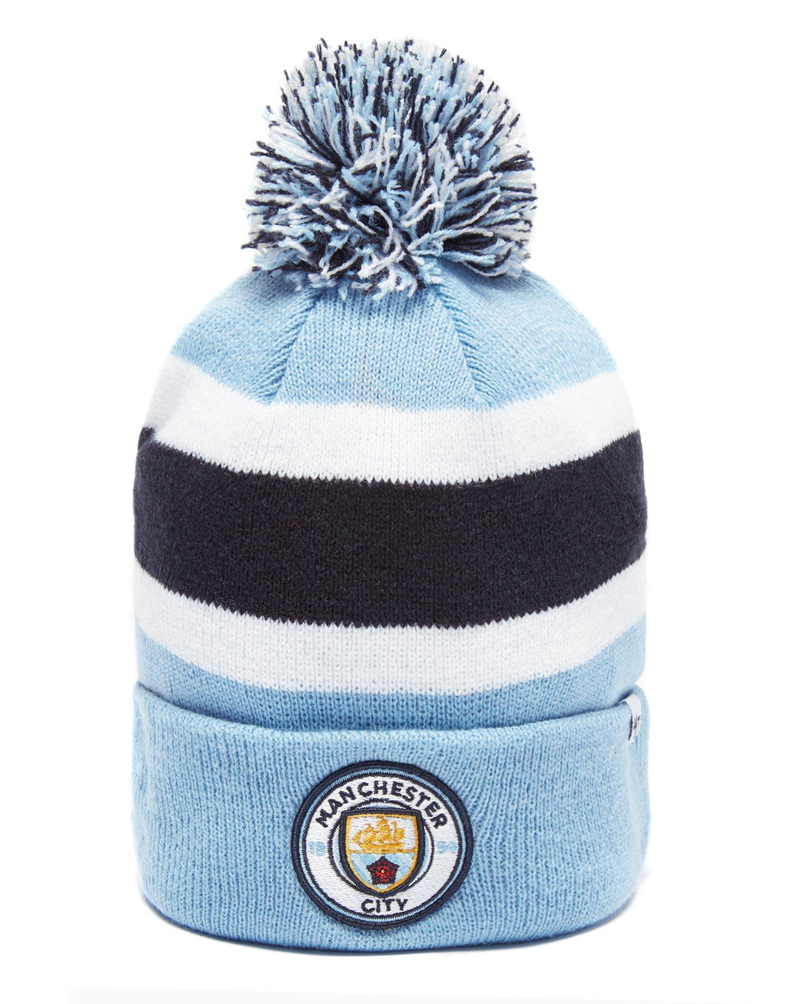 Lyst - 47 Brand Manchester City Fc Breakaway Beanie in Blue for Men 16f77e9acecd