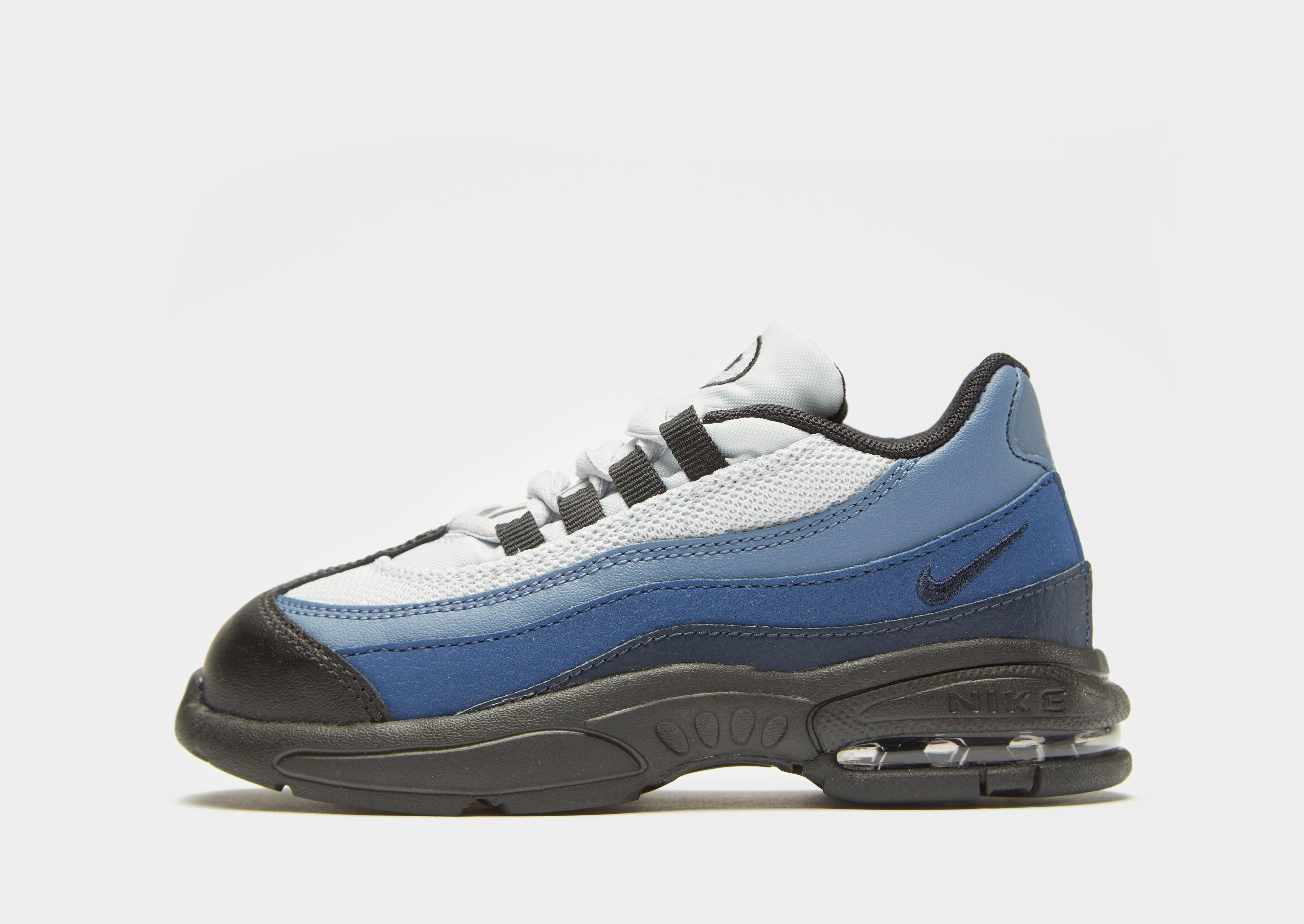 competitive price 885f6 fb7f9 Nike Blue Air Max 95 Infant