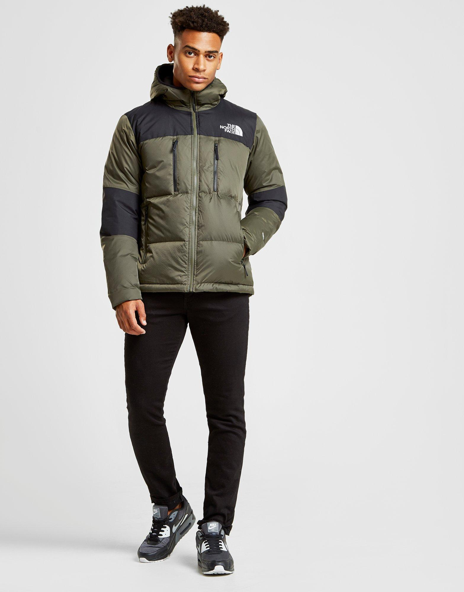 fa350fe1b The North Face Himalayan Down Jacket in Green for Men - Lyst