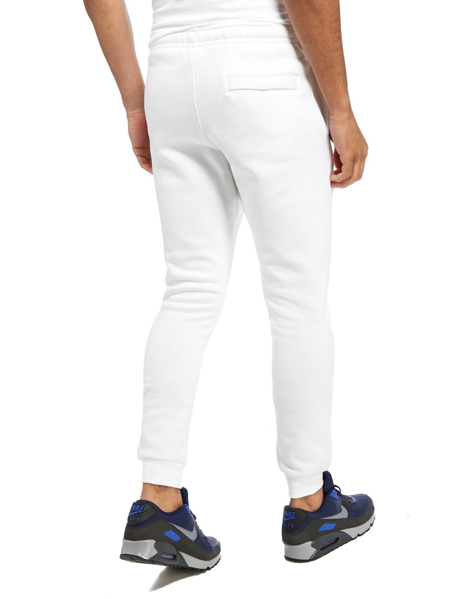 Nike Foundation Dc Fleece Pants in White for Men