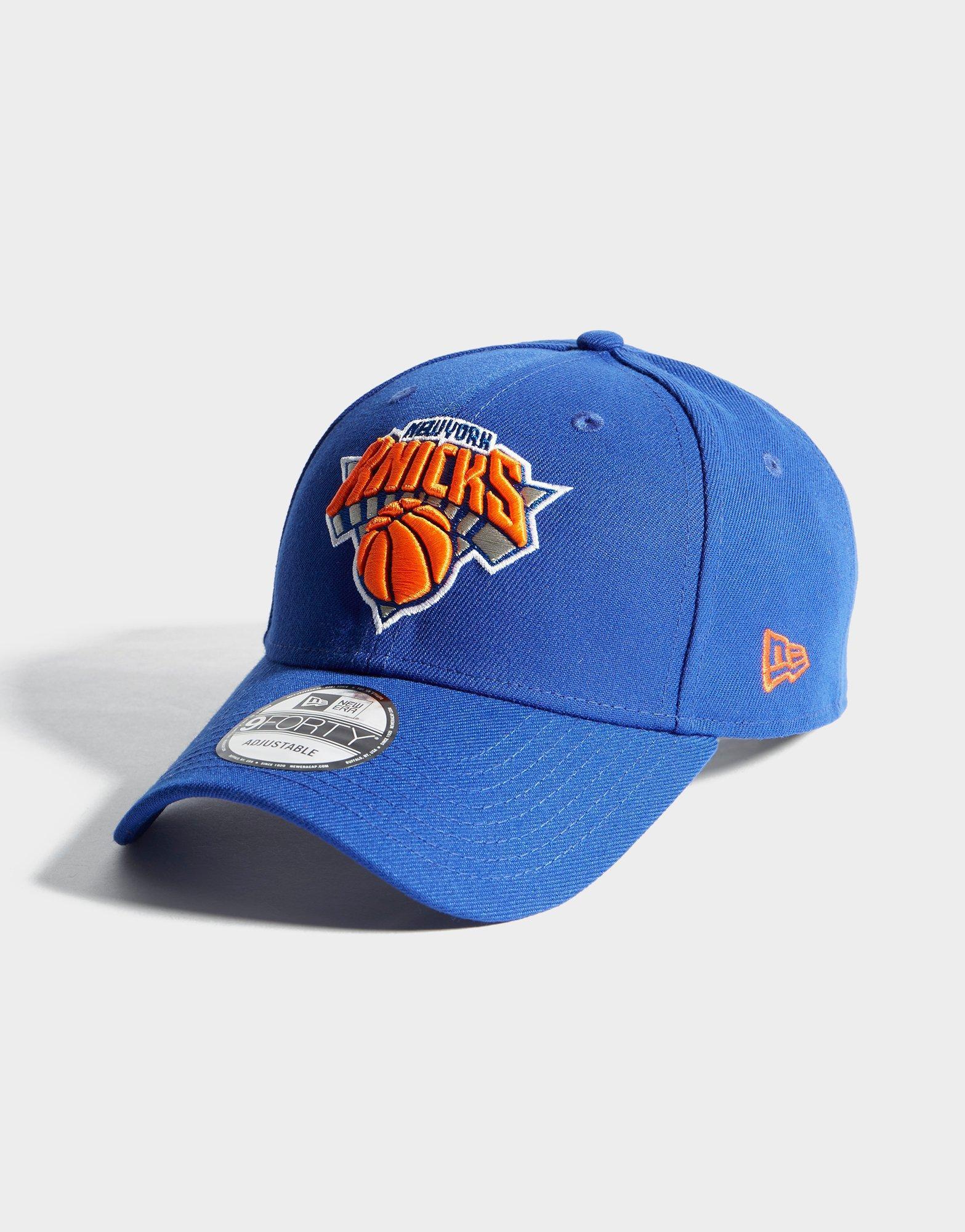 06ced43066e Lyst - Ktz Nba New York Knicks 9forty Cap in Blue for Men