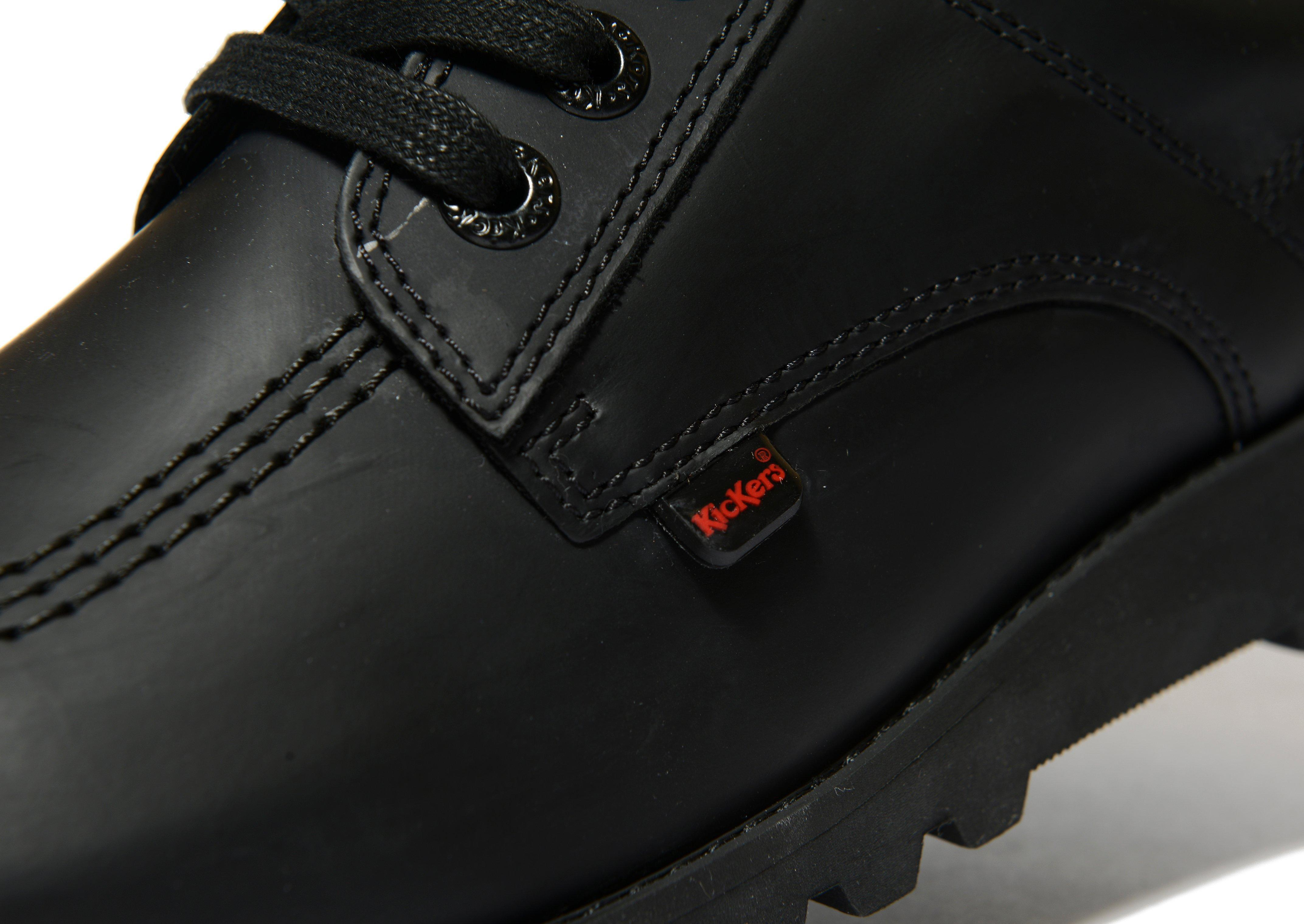 Kickers Leather Kick Lo C in Black for Men