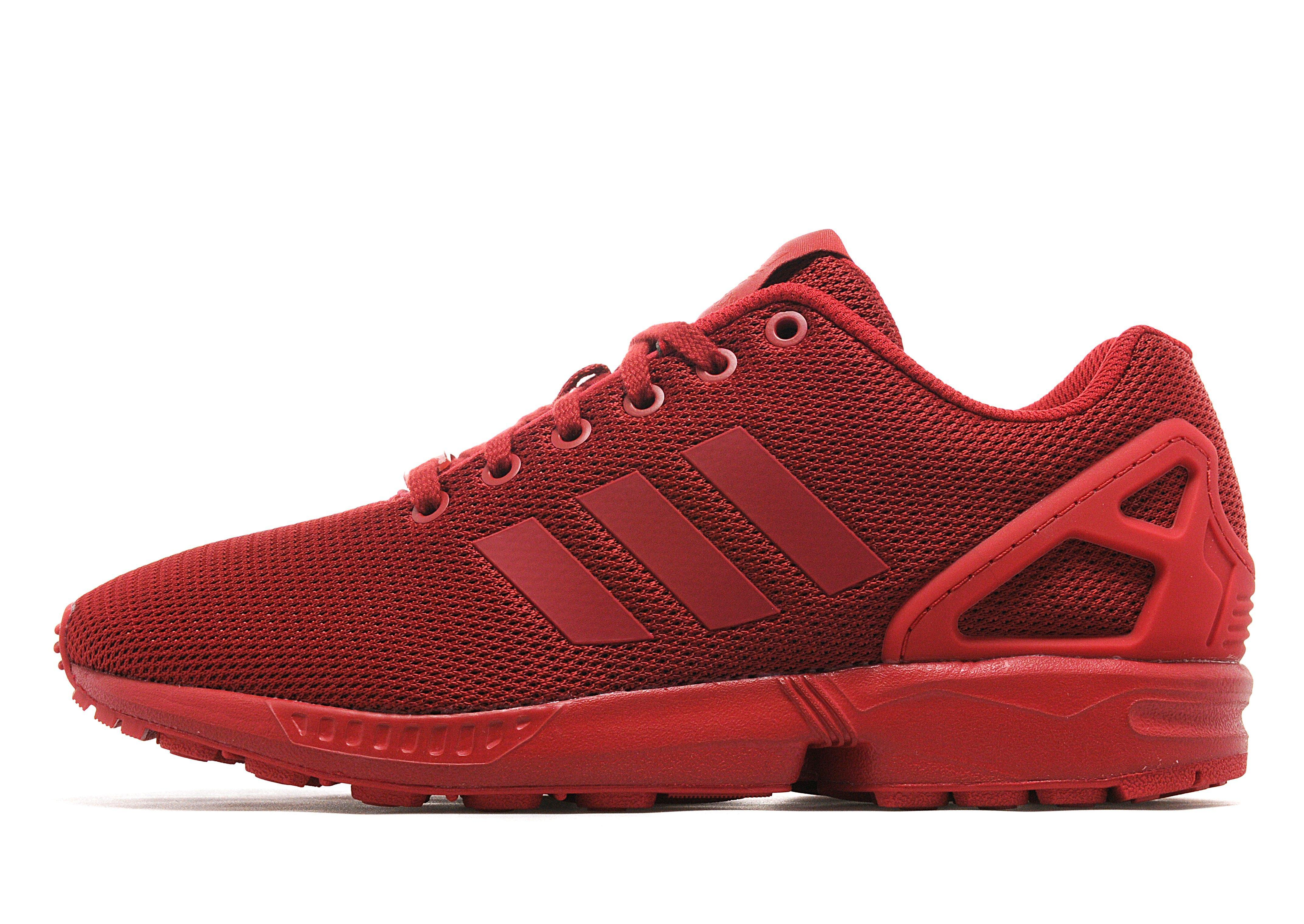 Zx Flux Shoes Red