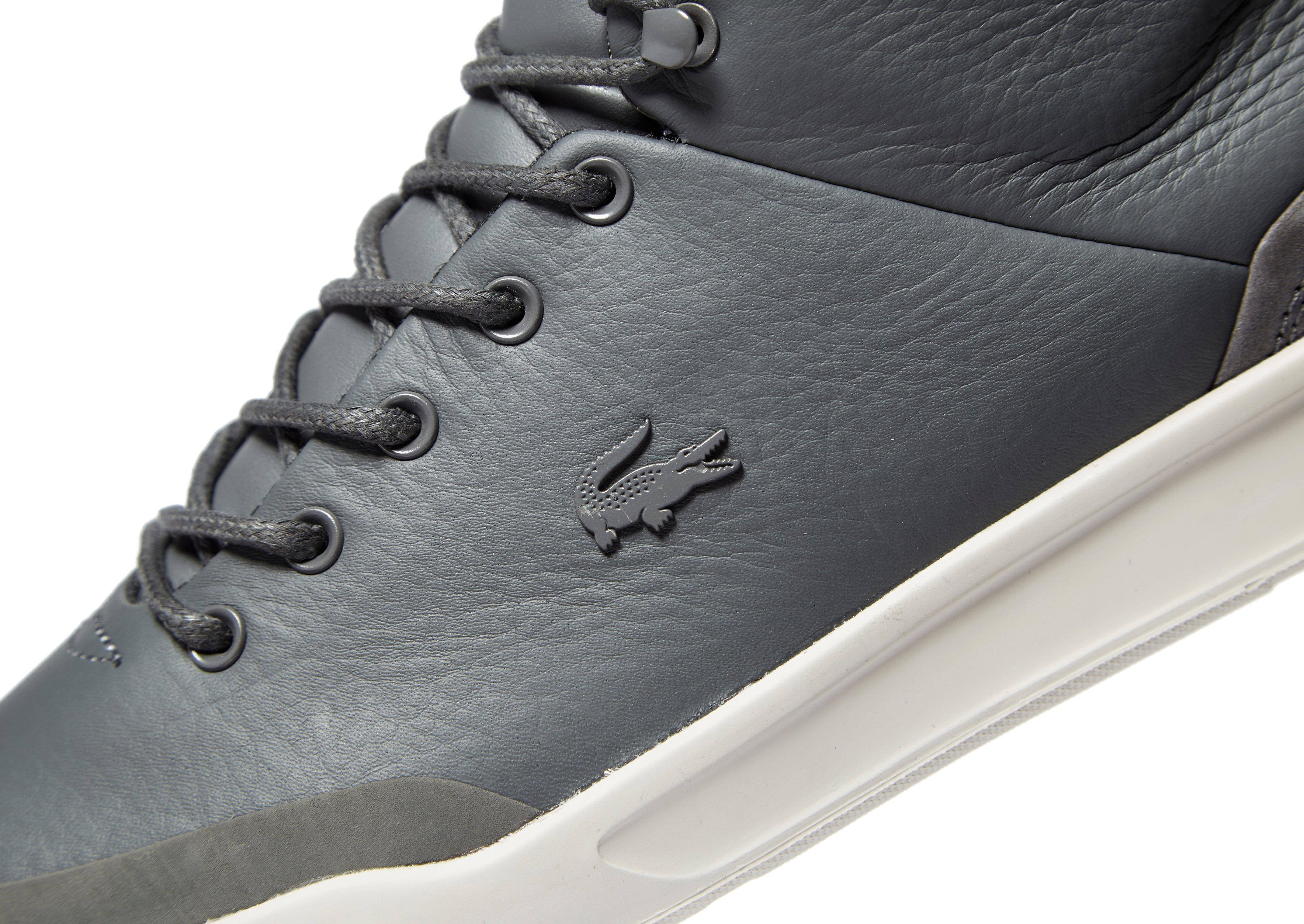 60b8257d9 Lacoste Explorateur Classic High Tops in Gray for Men - Lyst