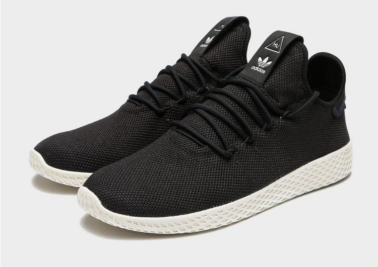 pharrell williams tennis hu shoes black