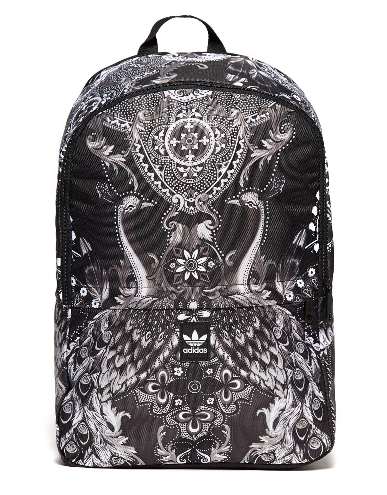 72cdfdd0b768 Lyst - adidas Originals Essentials Pavao Backpack in Black