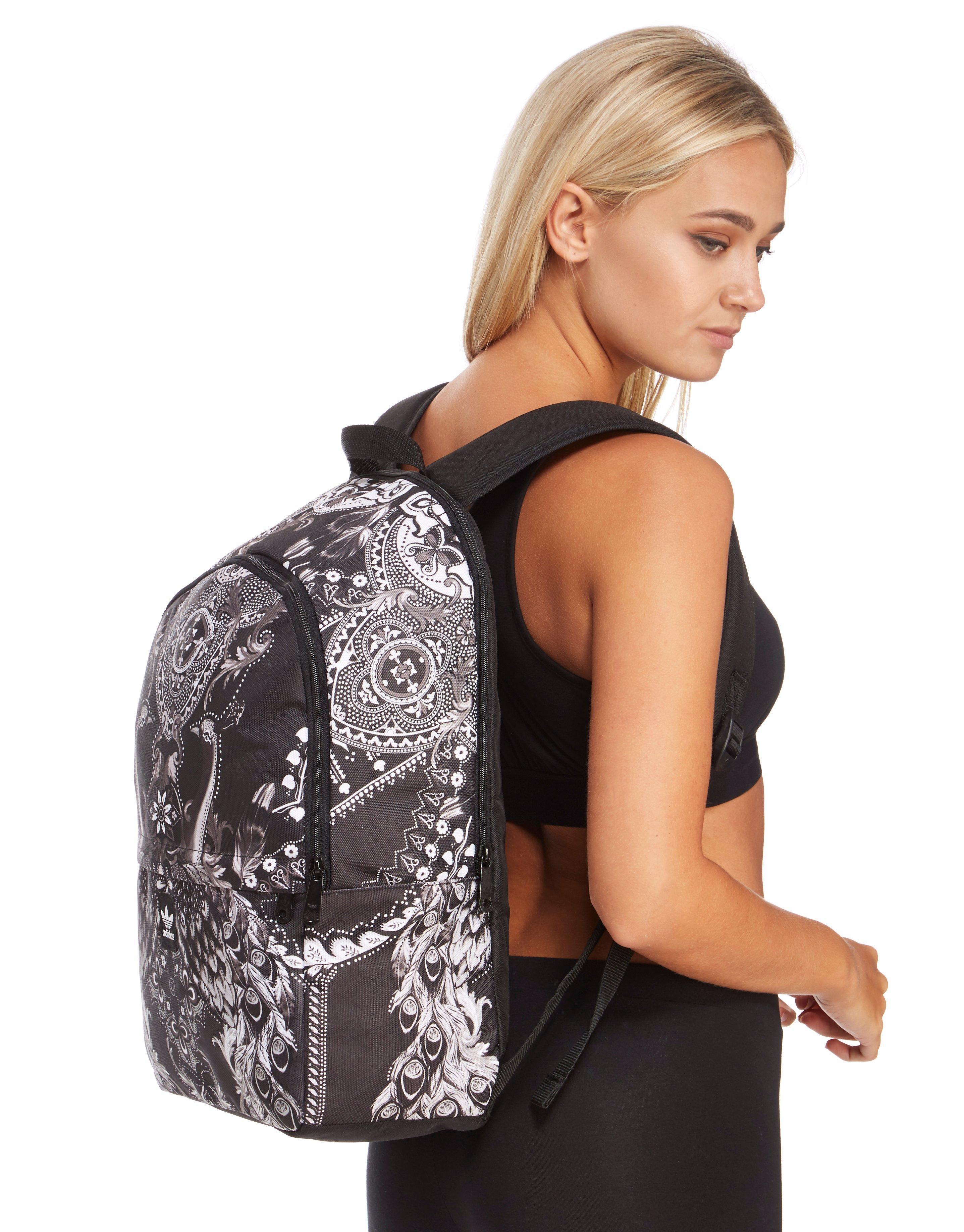 facf5e85b5 adidas Originals Essentials Pavao Backpack in Black - Lyst