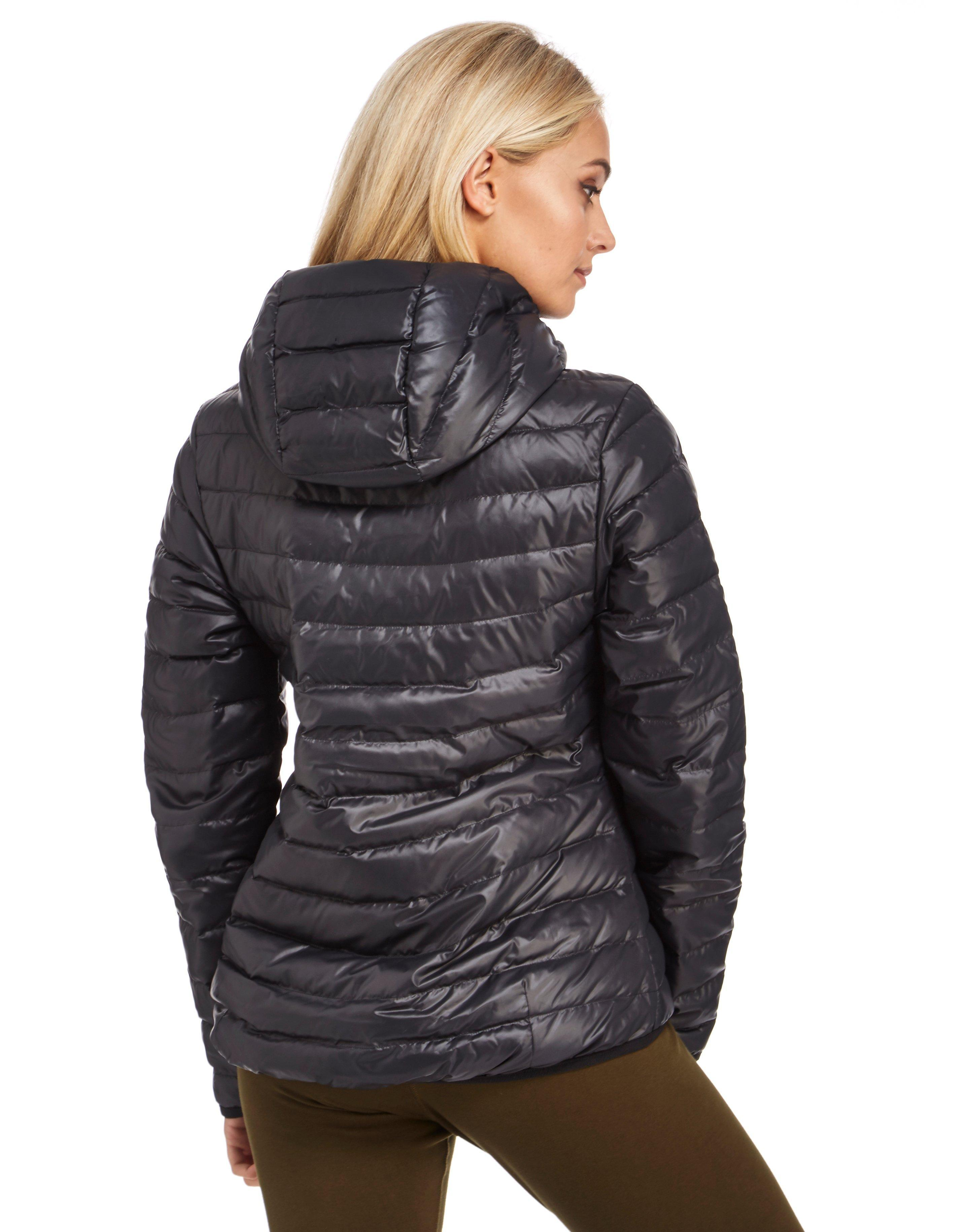 Down filled coats for women
