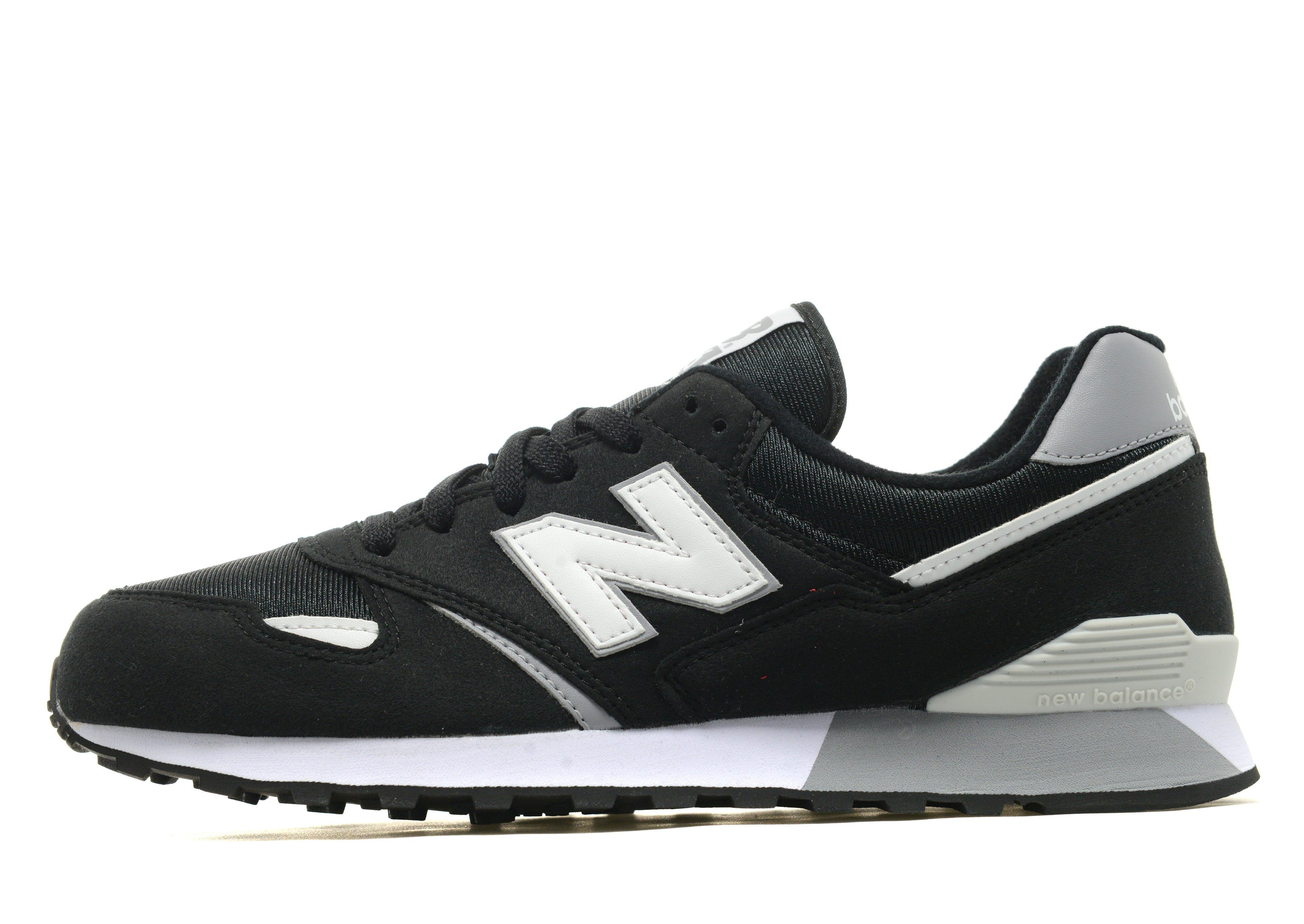 New Balance Lace 446 in Black/White/Grey (Black) for Men - Lyst