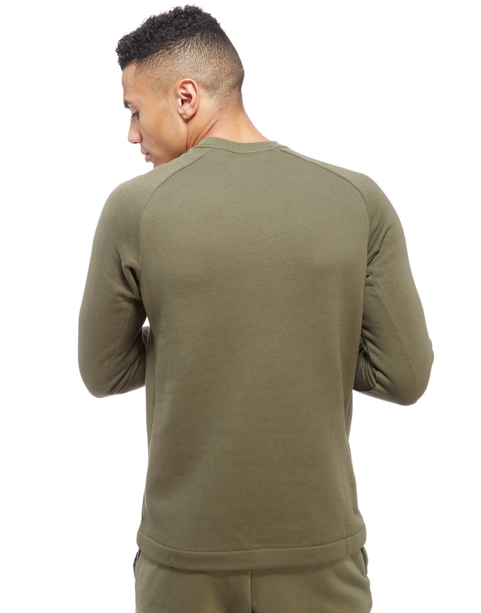 tira tonto ventilador  Nike Cotton Modern Crew Sweatshirt in Green for Men - Lyst