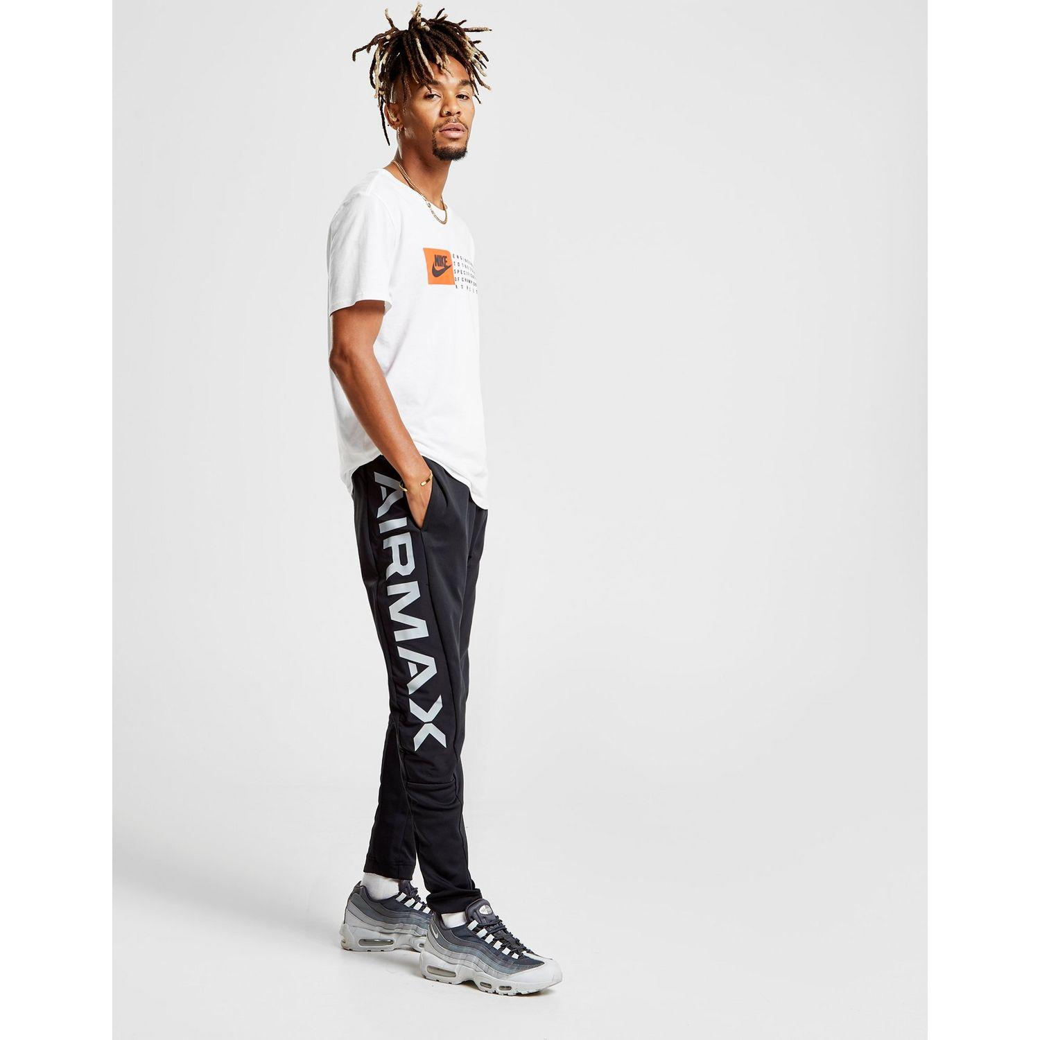 6f908a0b9152 Nike Sportswear Air Max Track Pants in Black for Men - Lyst