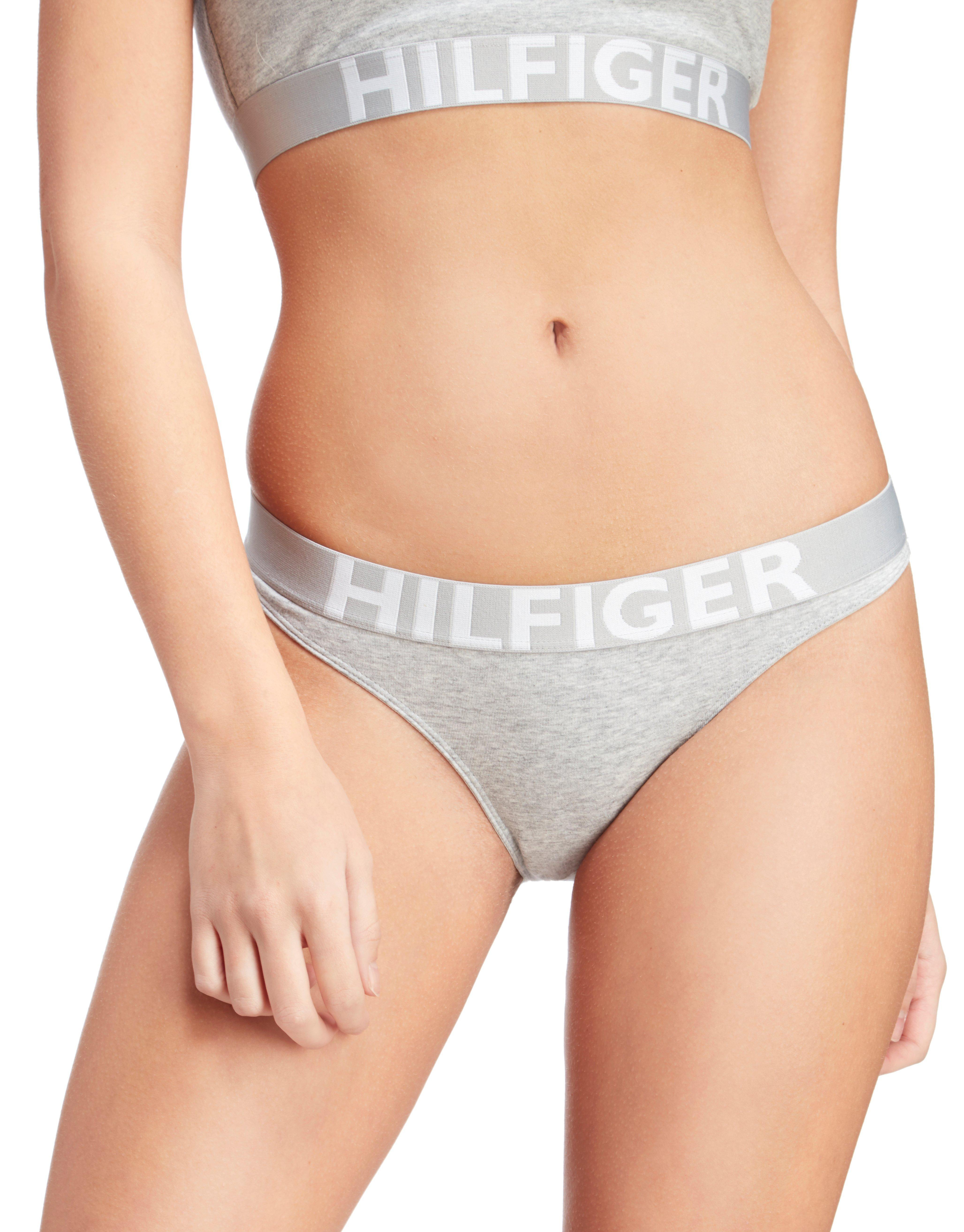 Lyst Tommy Hilfiger Bikini Briefs In Gray
