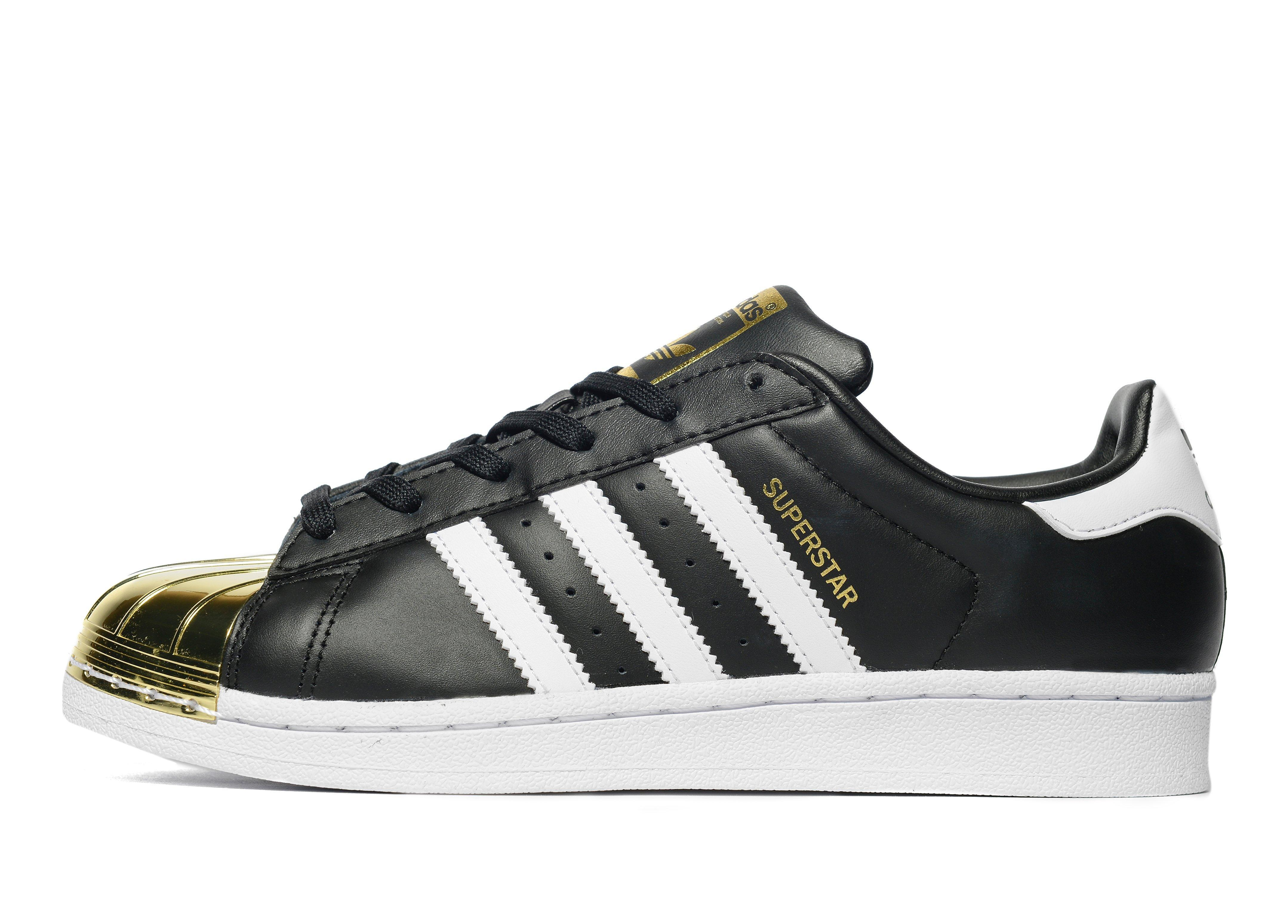 newest 1c517 5d907 Adidas originals Superstar Metal Toe in Black  Lyst
