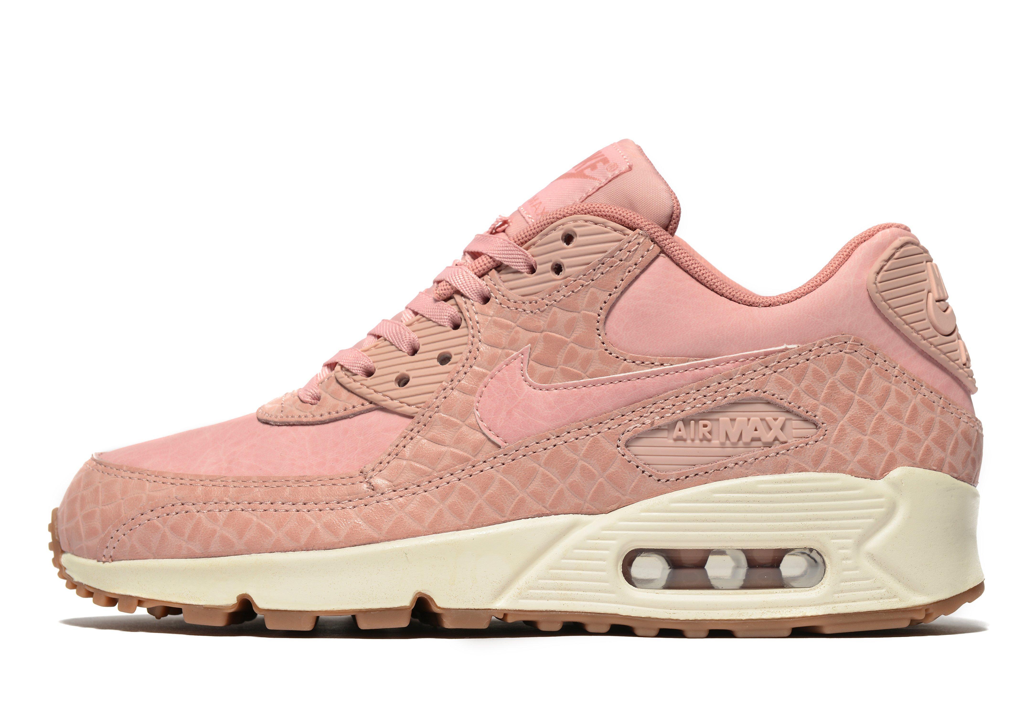 3028de3b6430 Lyst - Nike Air Max 90 Premium in Pink