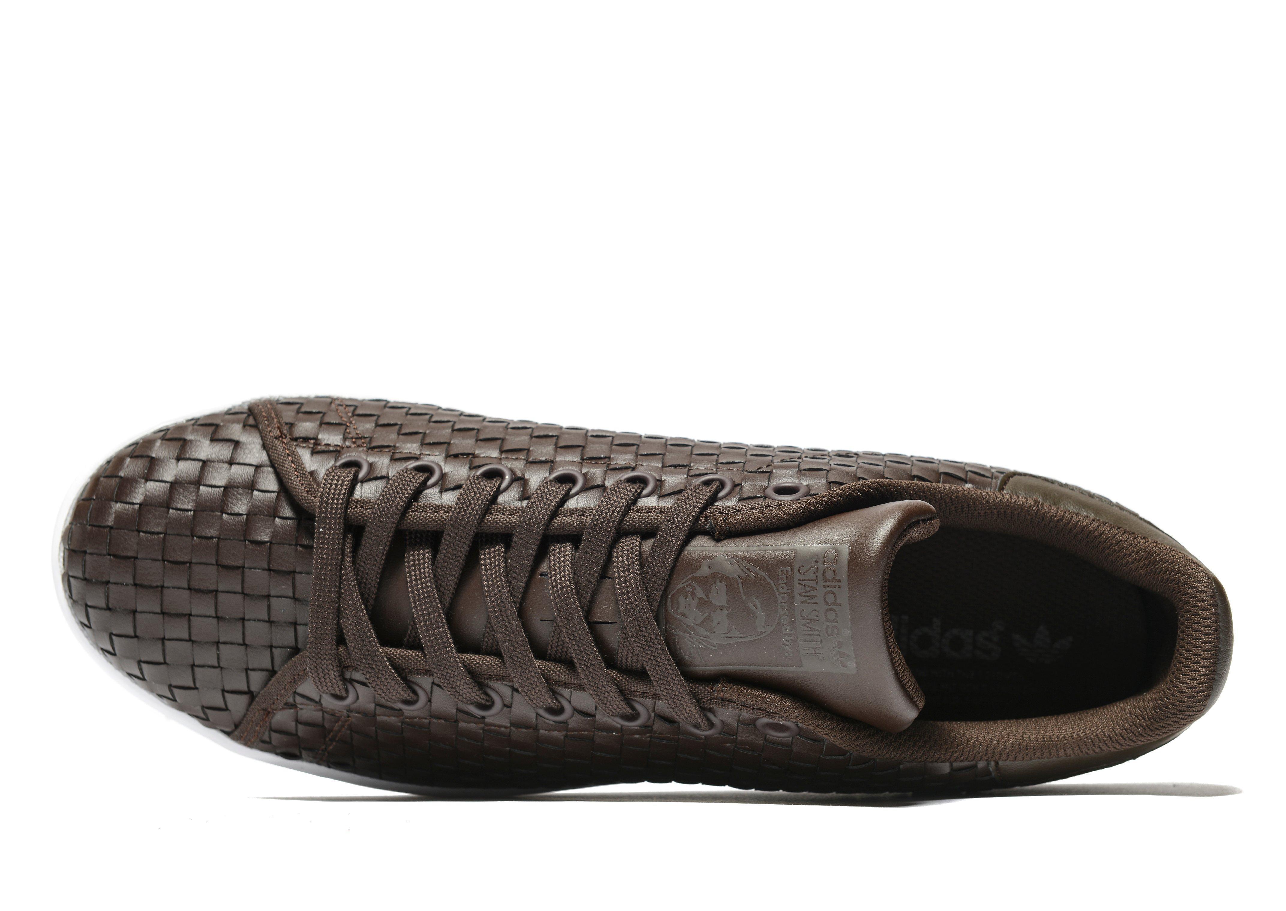 6a4a923291650 order adidas originals zx flux junior db5fe fd04a  50% off lyst adidas  originals stan smith weave in brown a1905 58096