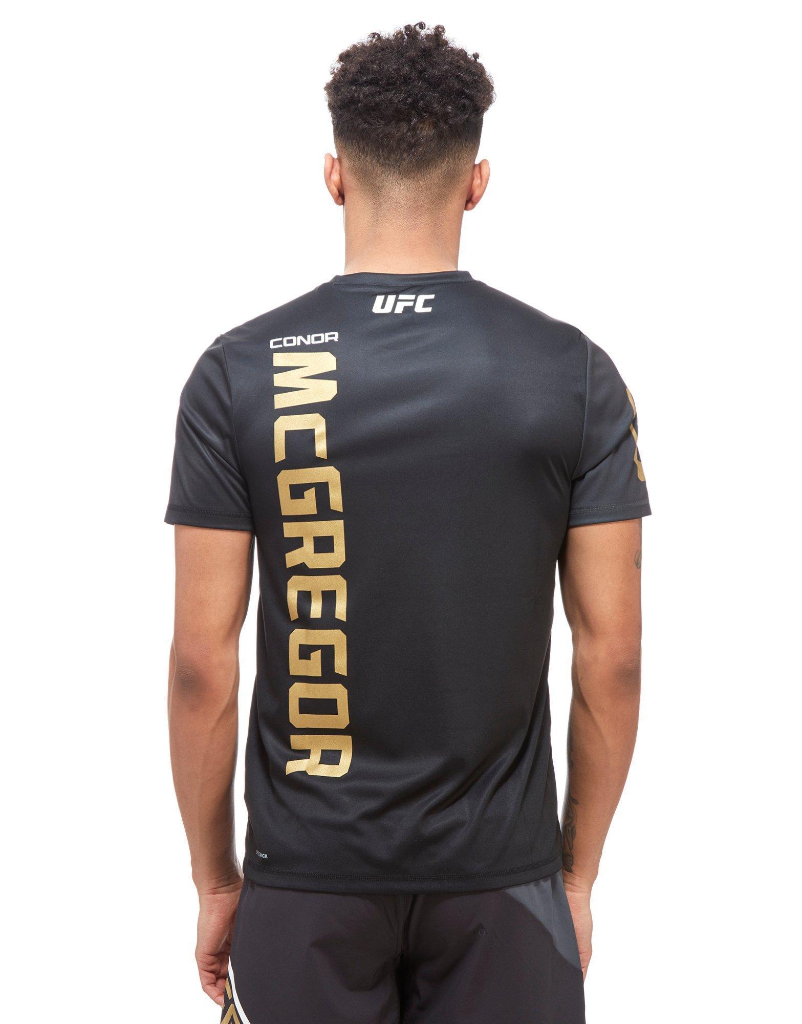 detailed look 793e3 ace35 Men's Black Ufc Conor Mcgregor Walkout T-shirt