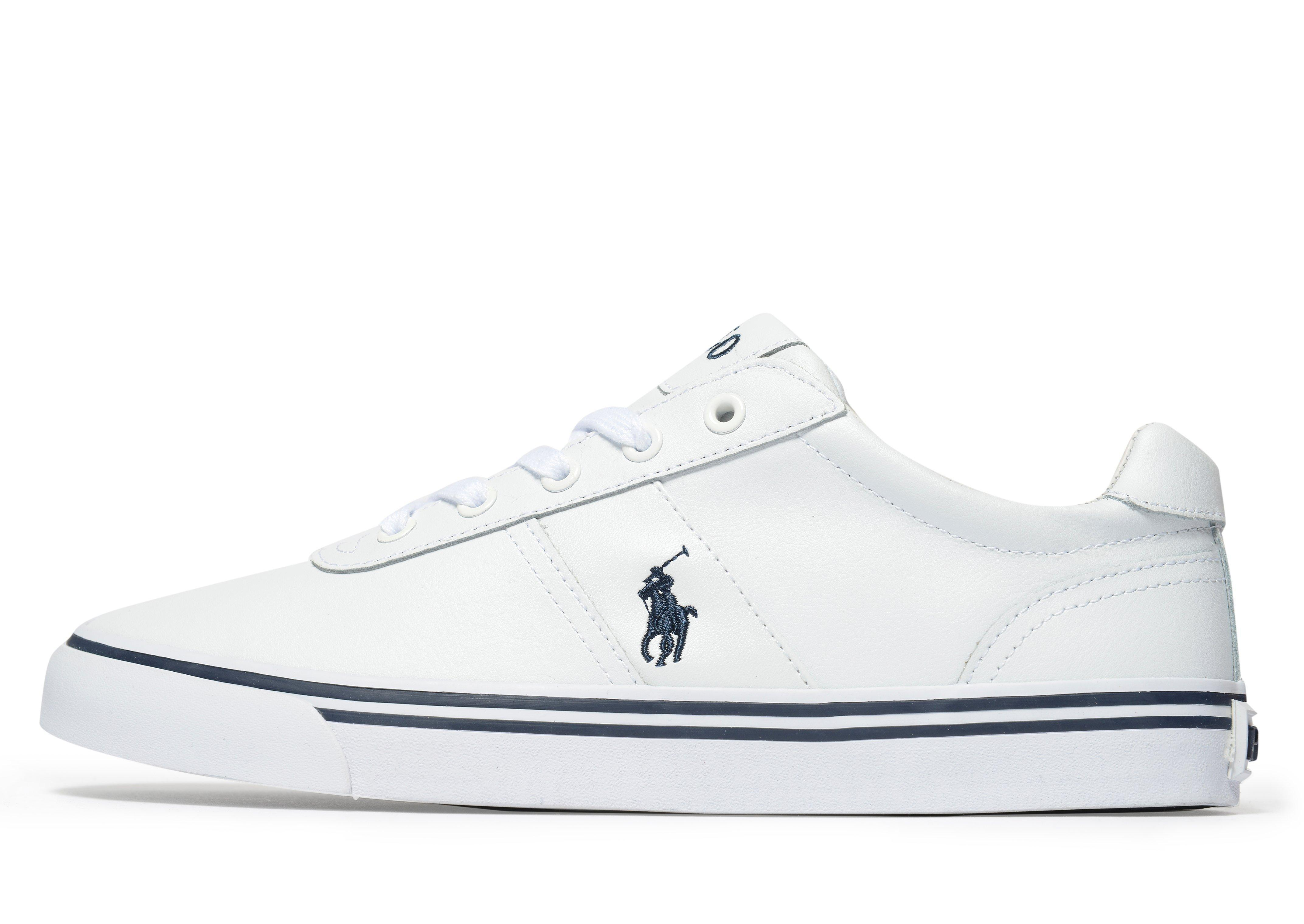 polo ralph lauren hanford sneakers in white for men lyst. Black Bedroom Furniture Sets. Home Design Ideas