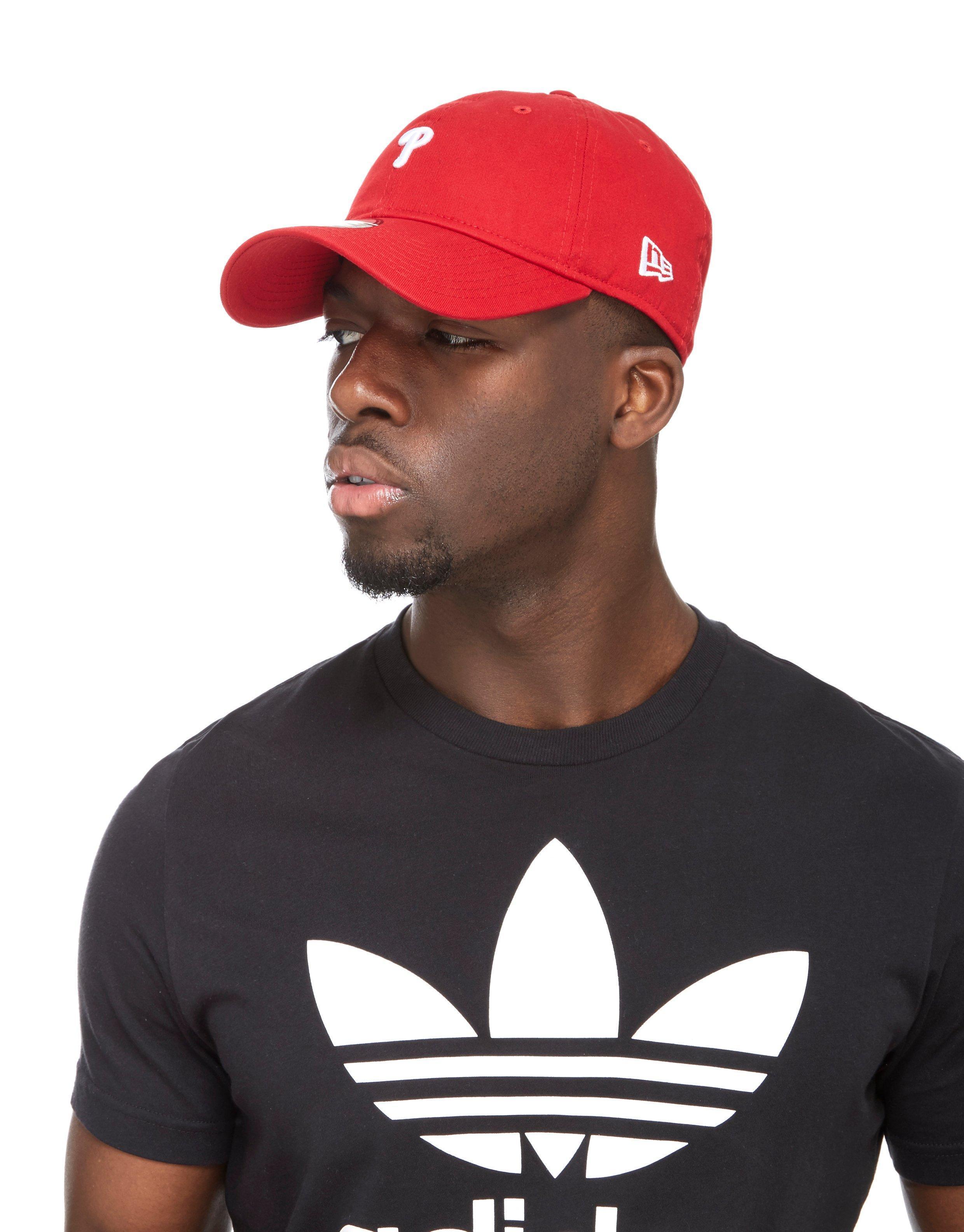 Ktz Mlb Philadelphia Phillies 9forty Cap in Red for Men