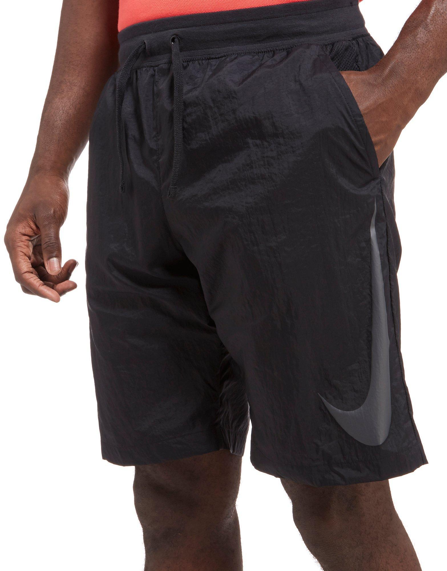 Lyst - Nike Woven Hybrid Shorts in Black for Men 585a4836f