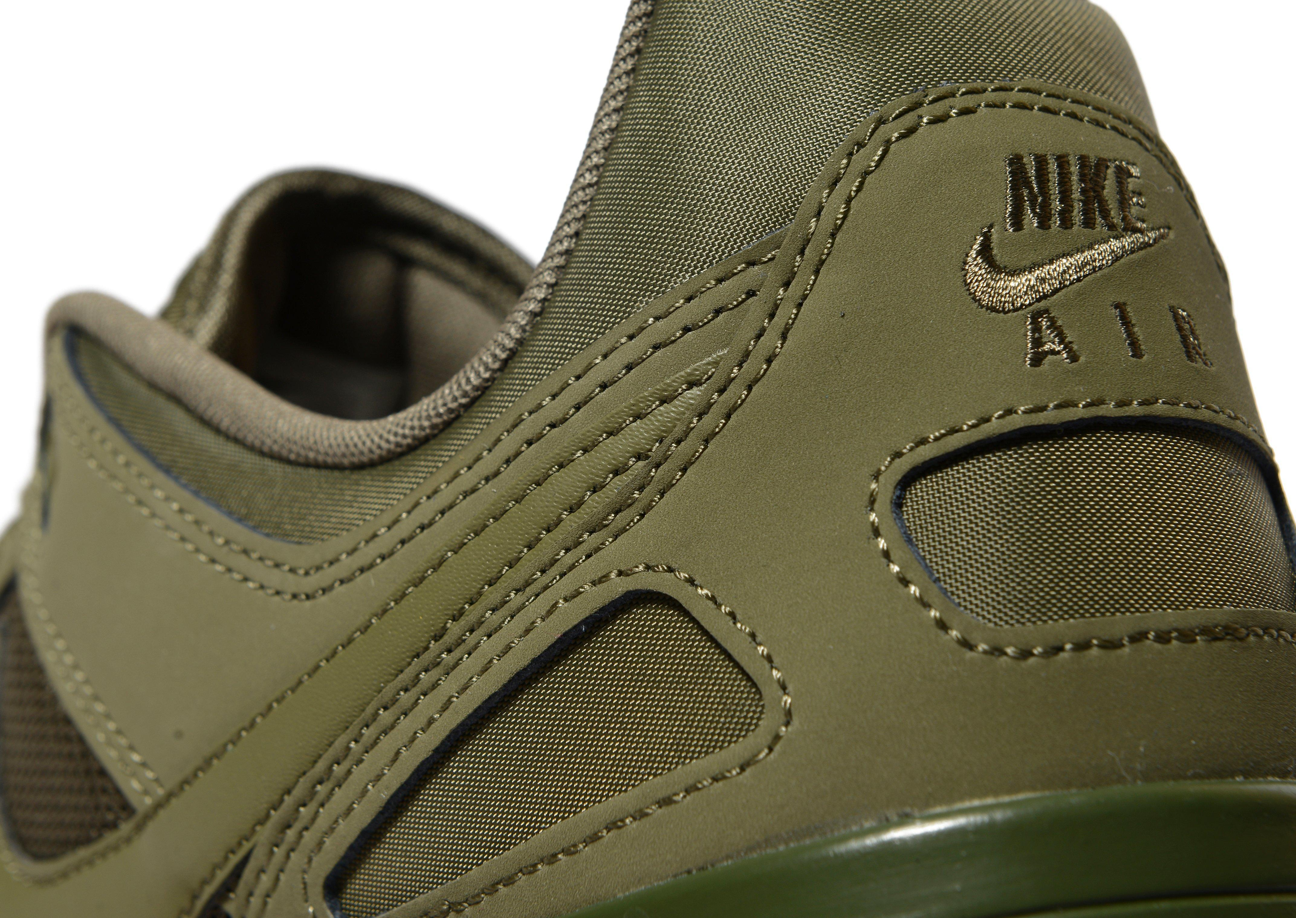 Nike Leather Pegasus 89 in Olive (Green