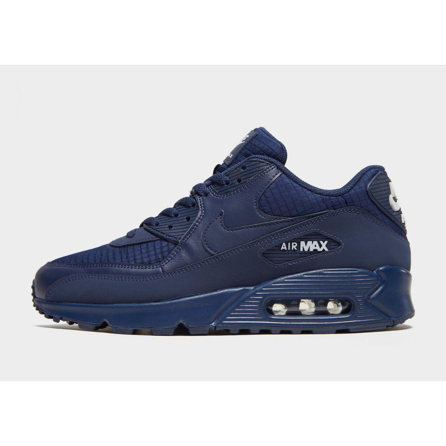 Nike Air Max 90 Essential in Blue for Men - Lyst 78977a3626