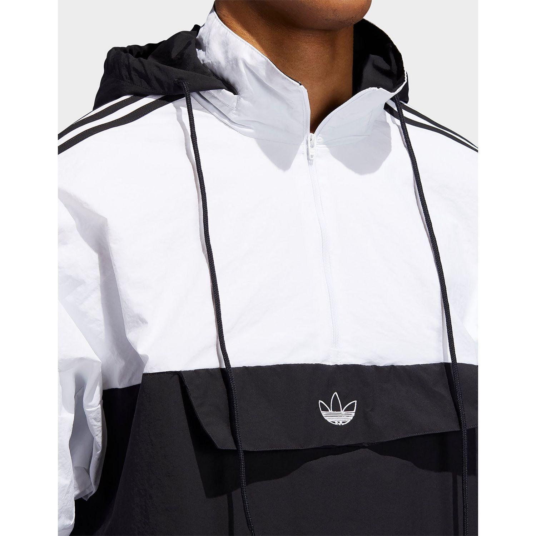 Outline Half zip Anorak Jacket