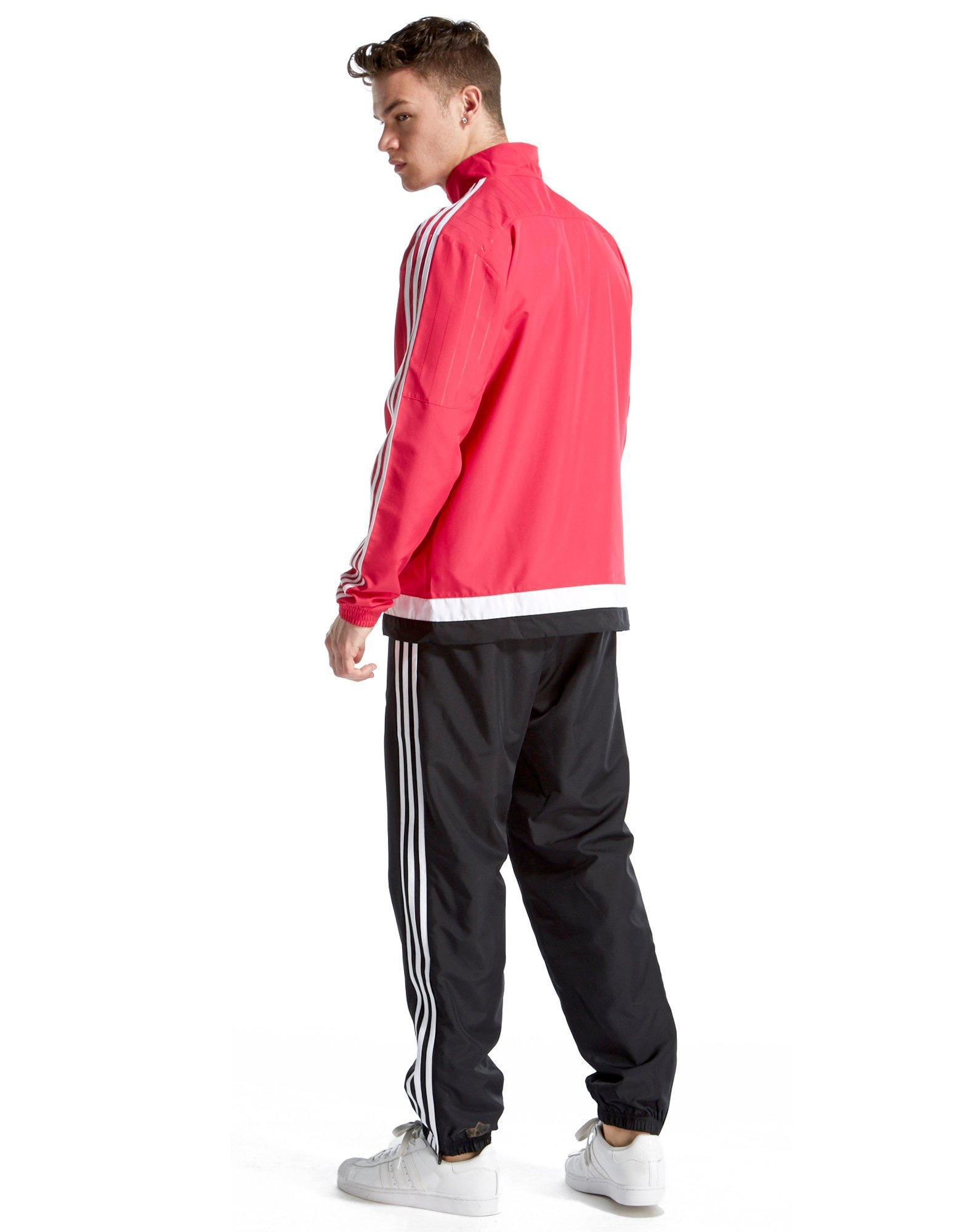 adidas Originals Synthetic Juventus 2015 Pre Match Tracksuit in Pink/Black (Pink) for Men
