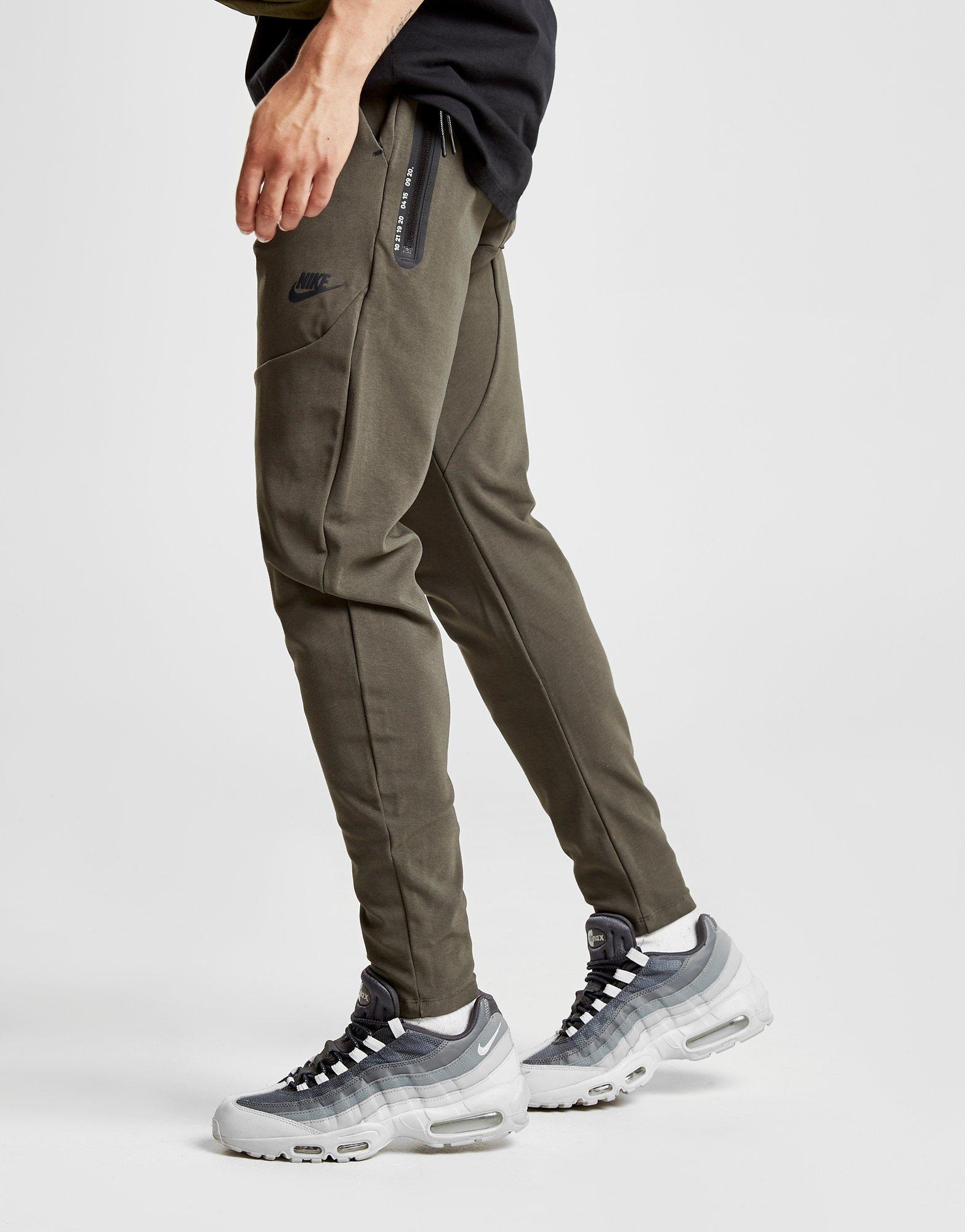 Lyst - Nike Sportswear Tech Track Pants in Green for Men a3f4921a2