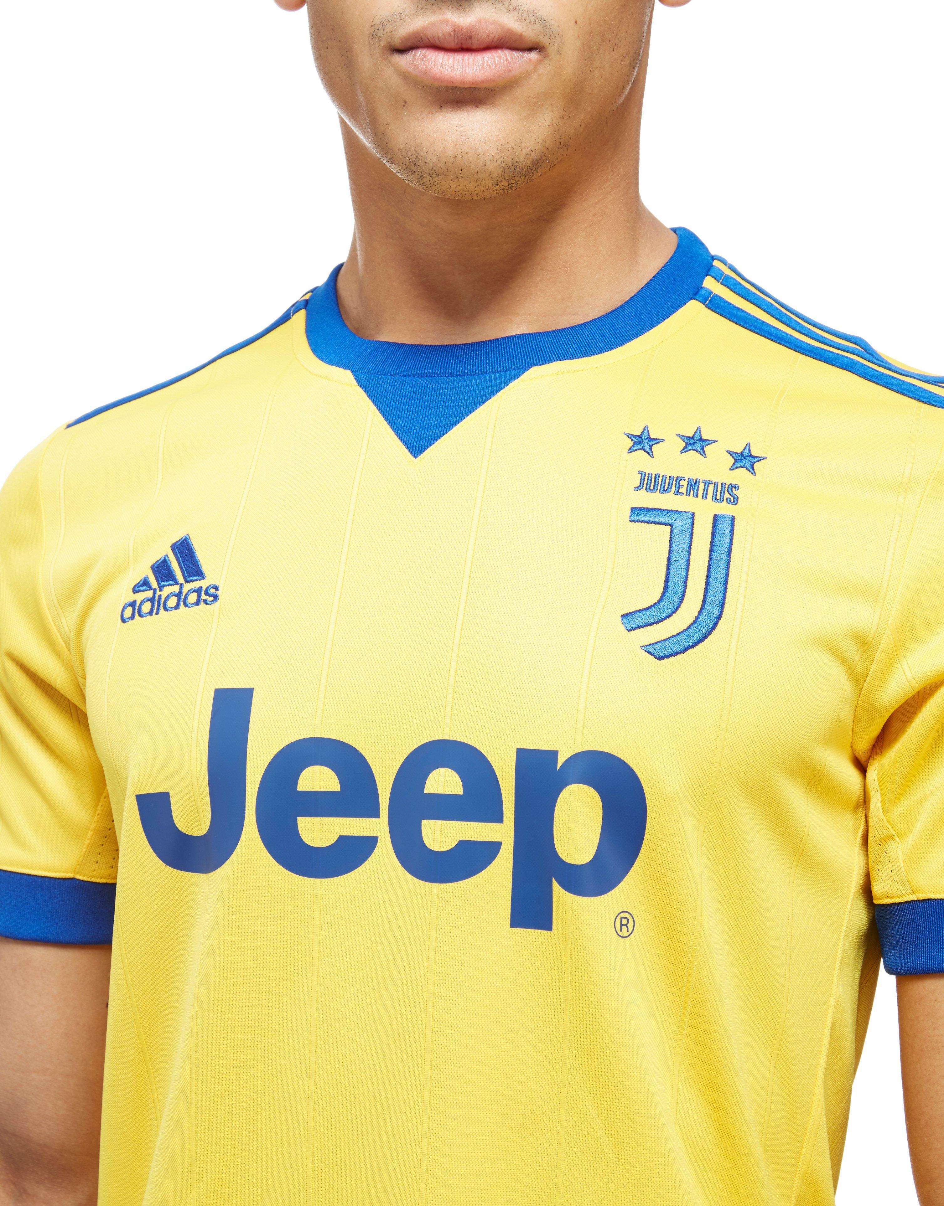 adidas Synthetic Juventus 2017/18 Away Shirt in Orange for Men