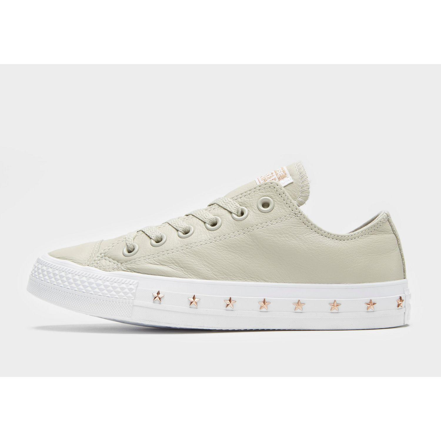 Converse All Star Ox Stud Women in Gray - Save 54% - Lyst 11832f148