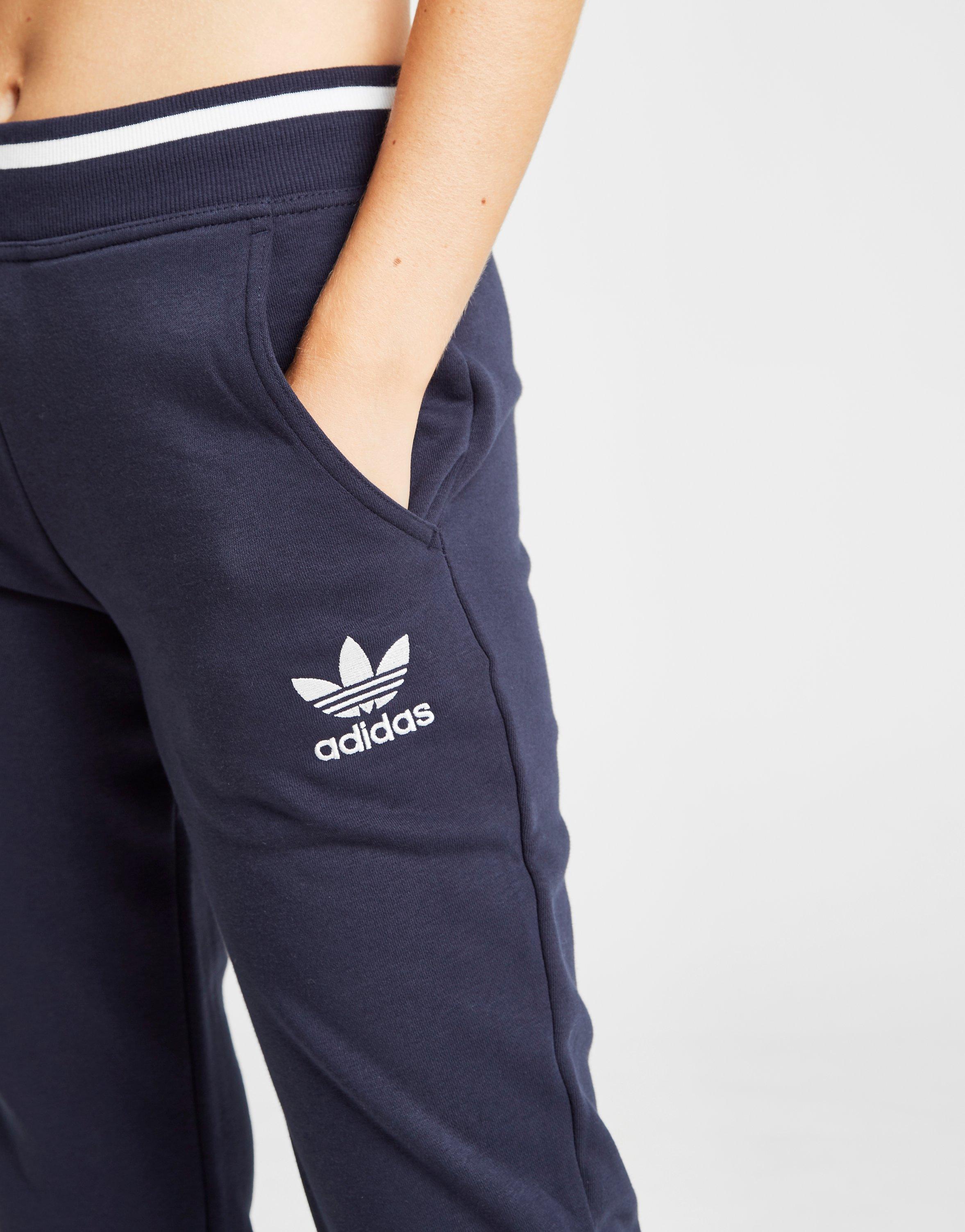 women's adidas fleece track pants