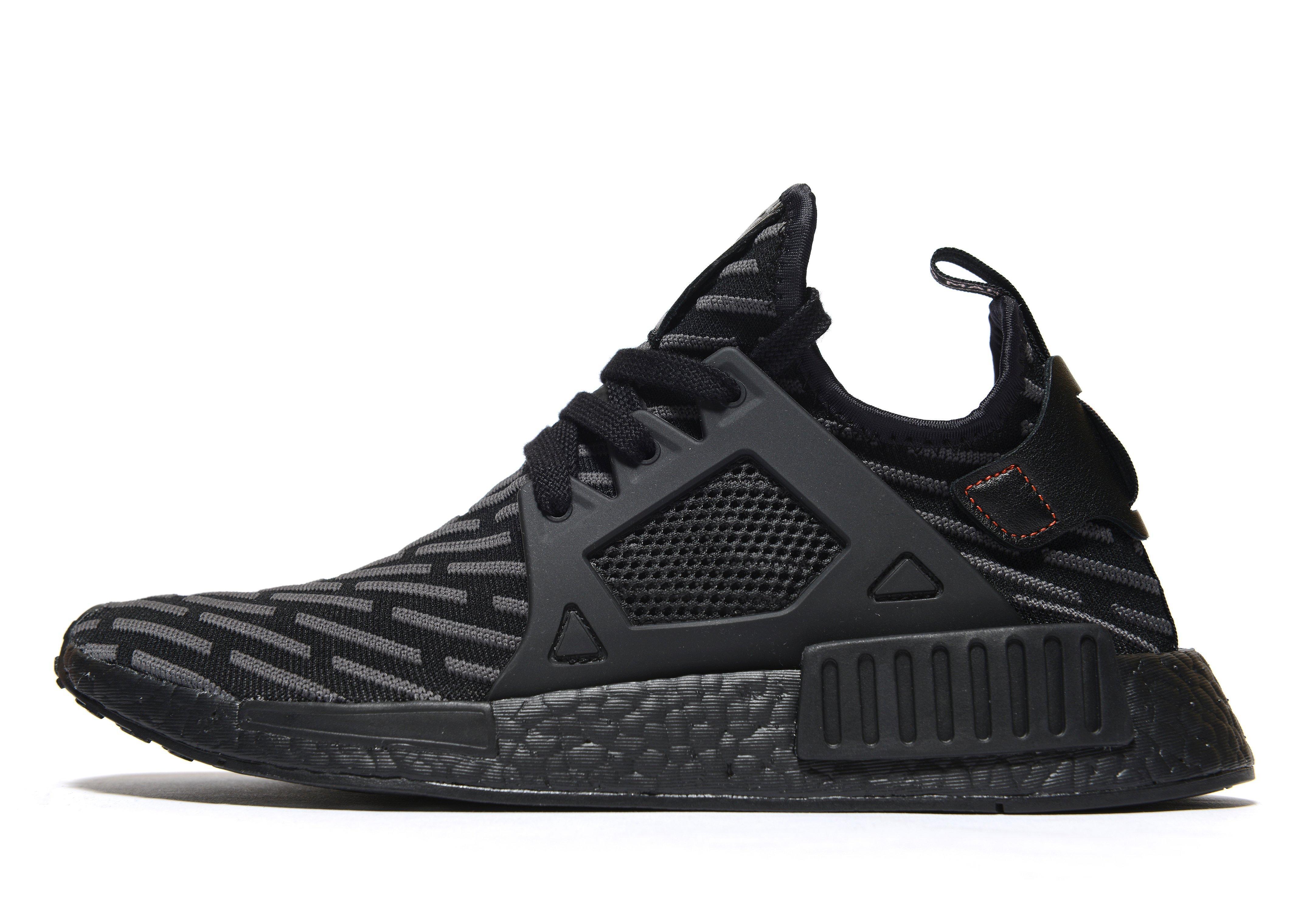 Adidas Originals Rubber Nmd Xr1 Primeknit In Black For Men