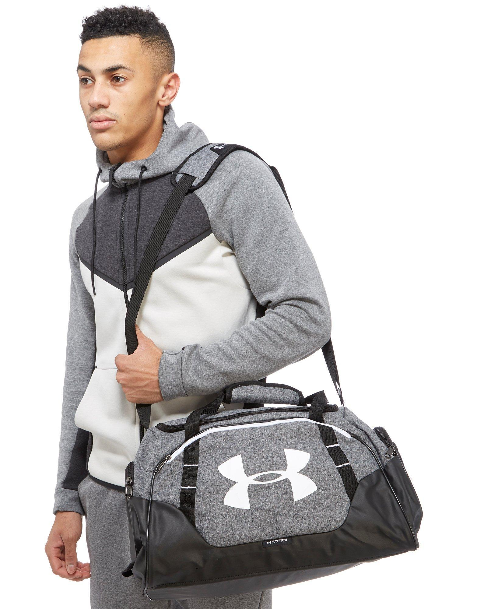 Lyst - Under Armour Undeniable Duffle 30 Xs Men s Sports Bag In Grey ... e9bc538fdb