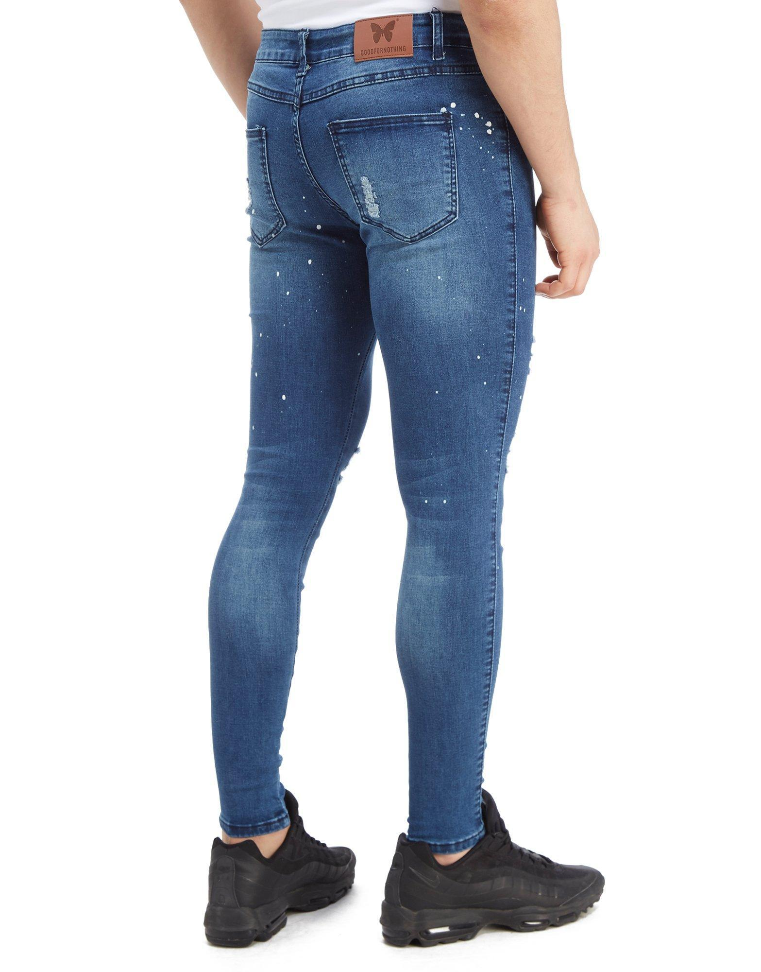 Lyst - Good For Nothing Mid-rise Denim Jeans in Blue for Men - Save  65.27777777777777% 6b8650daf3de