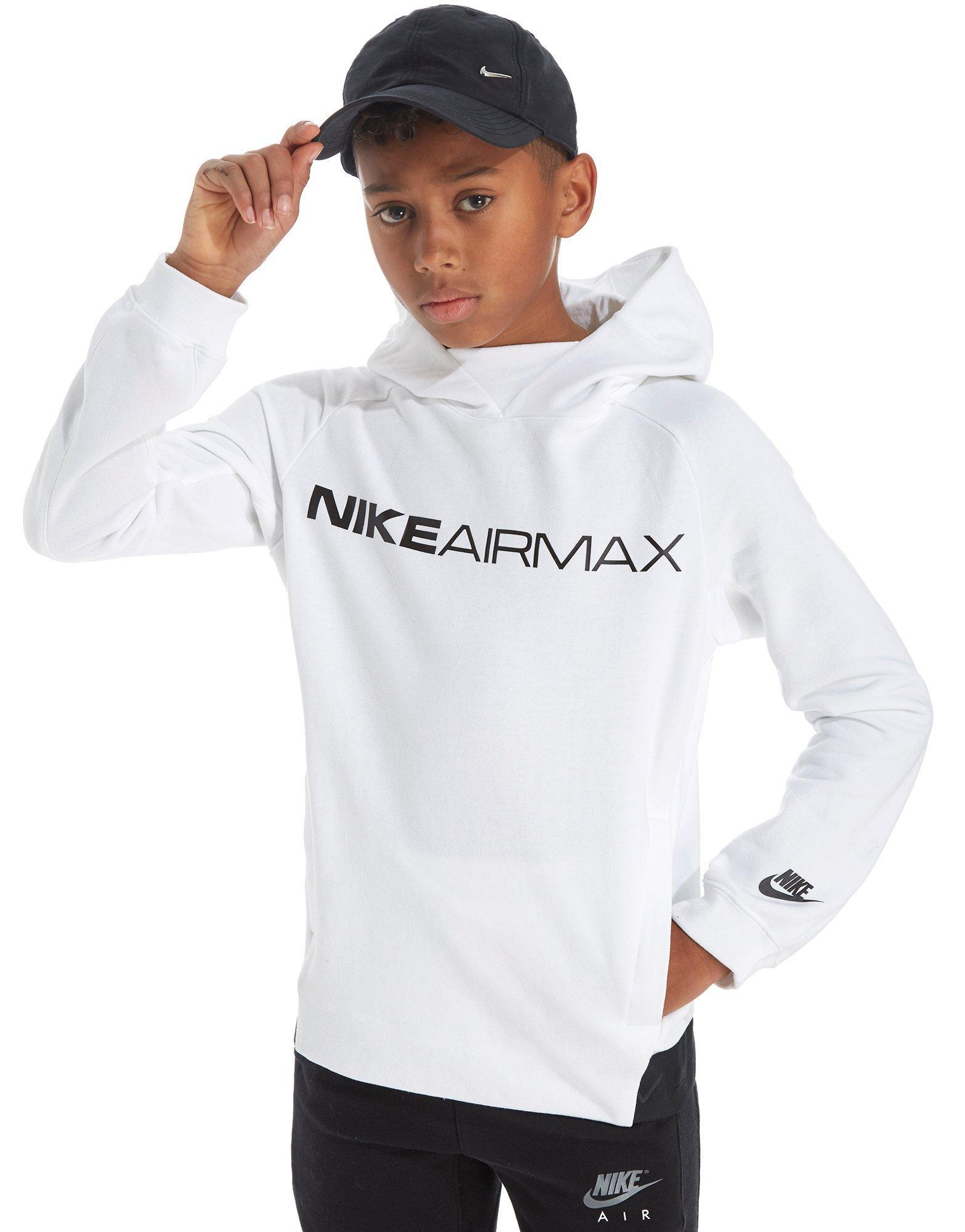 outlet store 4166c aec51 Nike Air Max Hoodie Junior in White for Men - Lyst