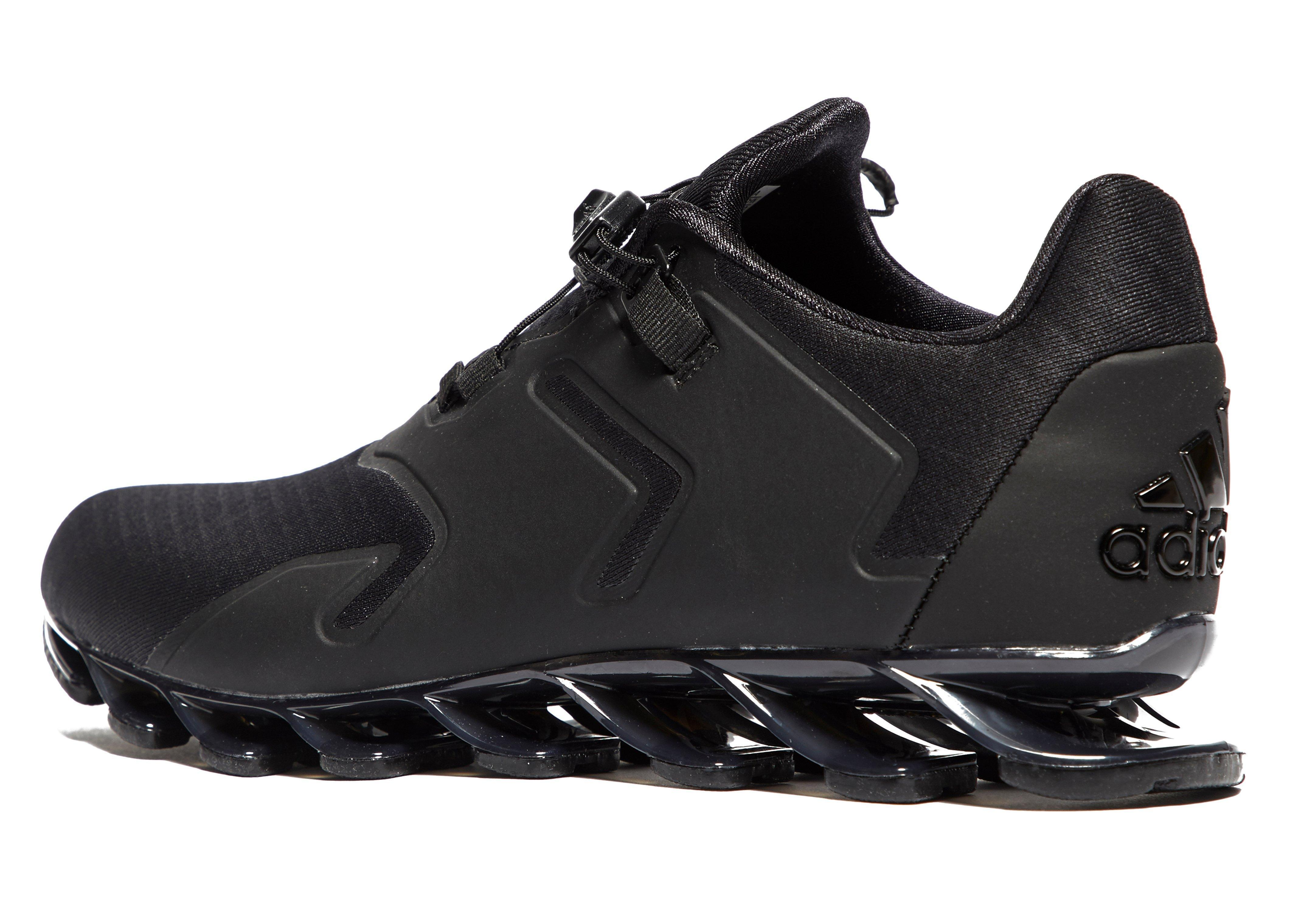 aed4a2e7f75 ... new zealand adidas springblade solyce running shoes in black for men  lyst 4ec61 c8770